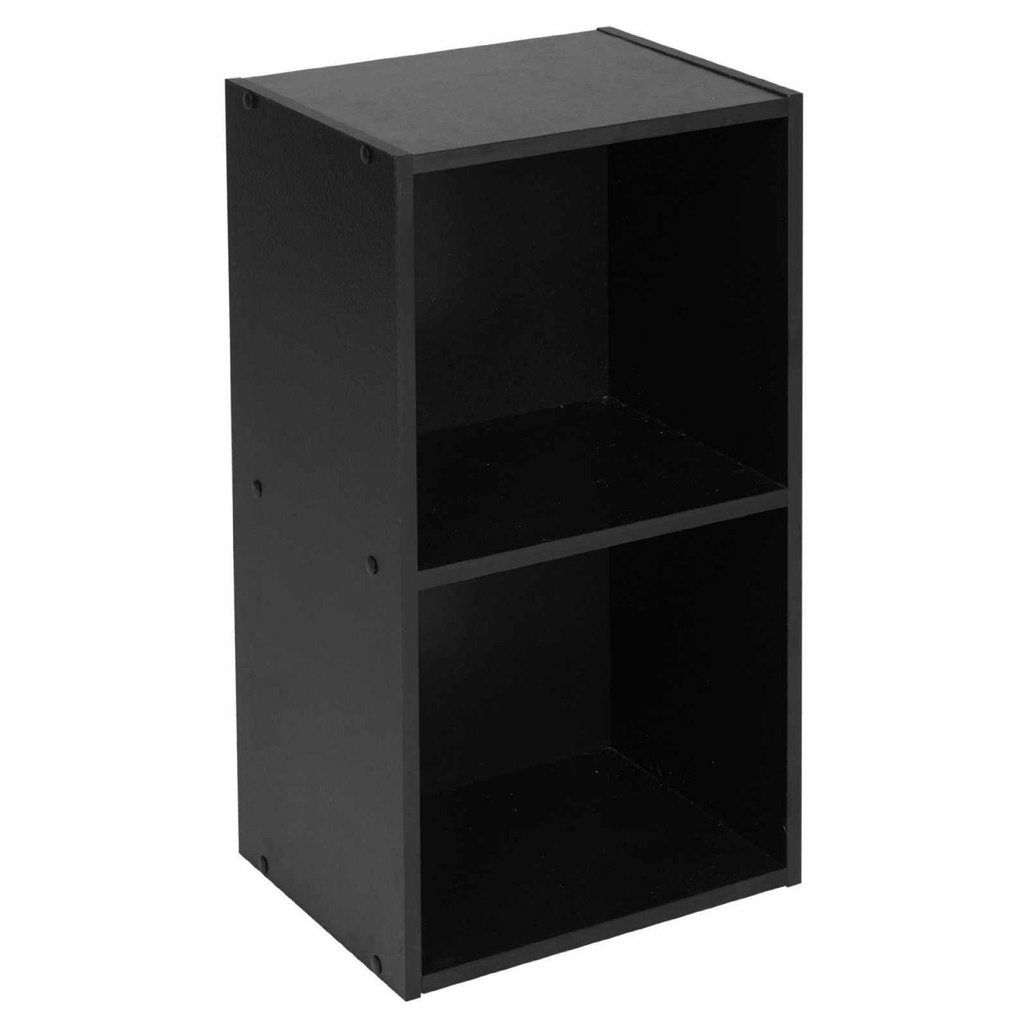 Wooden-Storage-Unit-Cube-2-3-4-Tier-Strong-Bookcase-Shelving-Home-Office-Display thumbnail 15