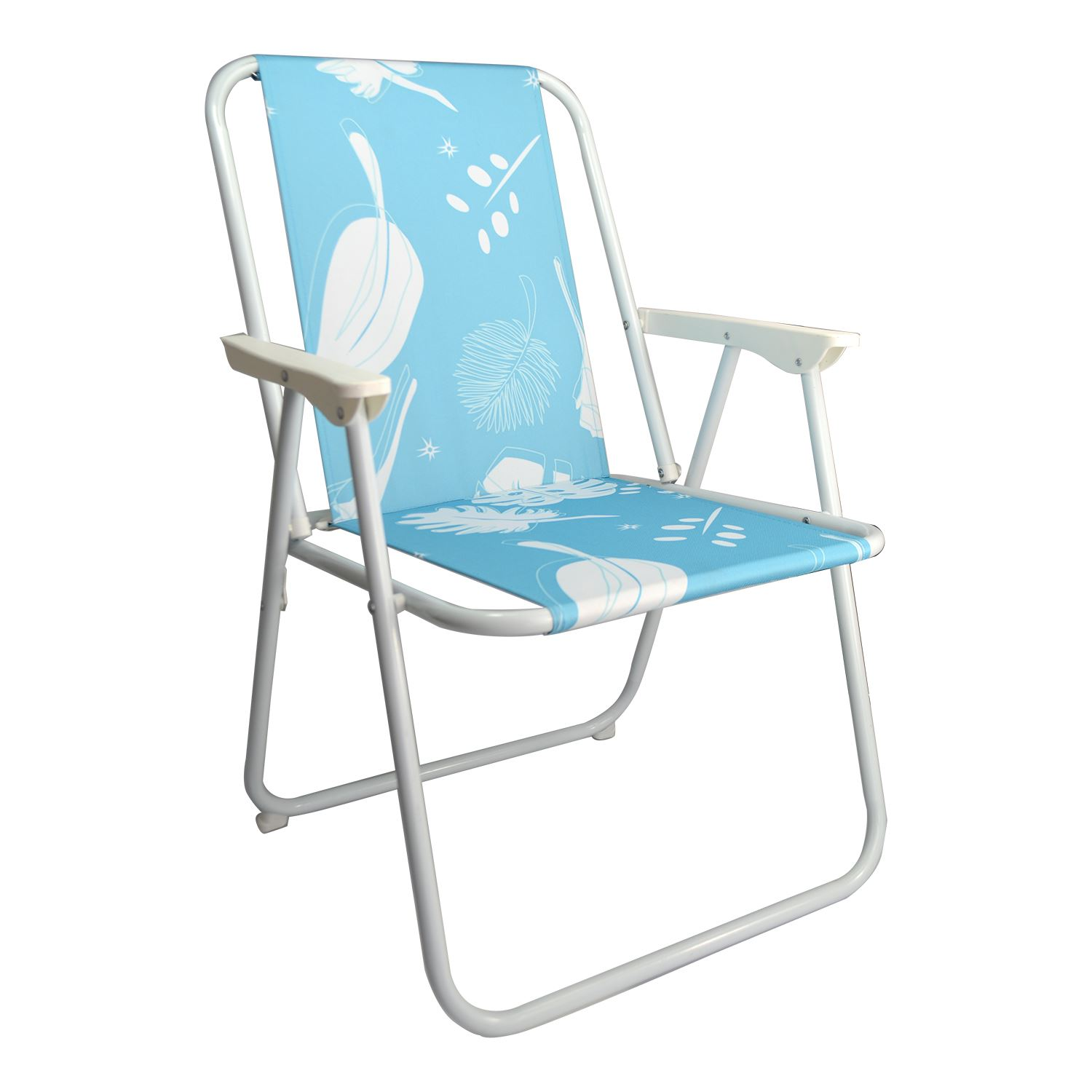 Folding Garden Patio Spring Deck Chair Picnic Camping Beach