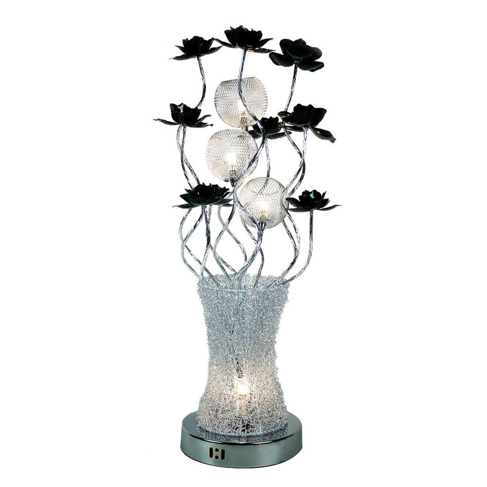 Large modern aluminium flower vase floor lamp light petal design large modern aluminium flower vase floor lamp light reviewsmspy