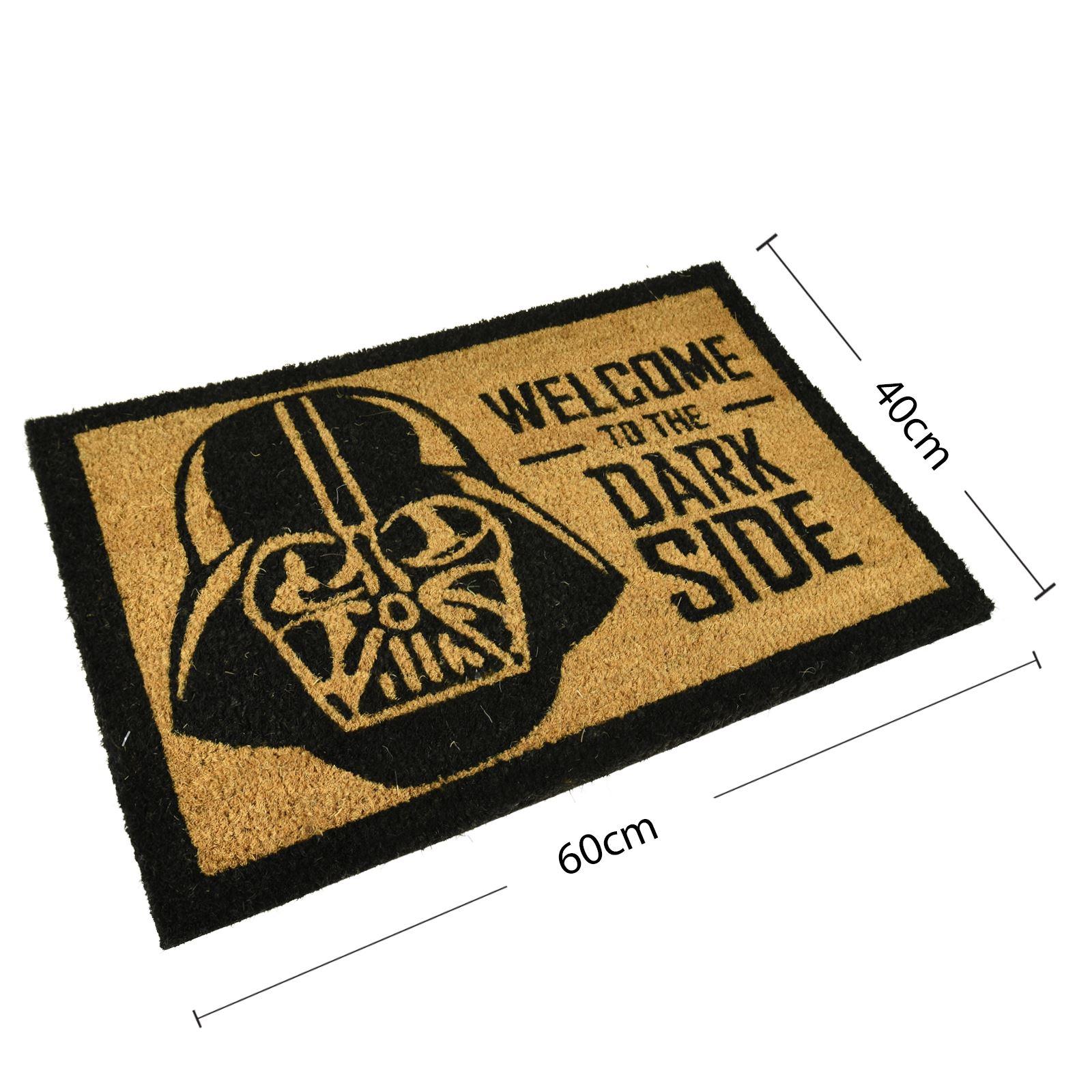 Plain-Non-Slip-Door-Mat-Tough-Natural-Coir-PVC-Back-Welcome-Doormat-40-x-60cm miniatura 36