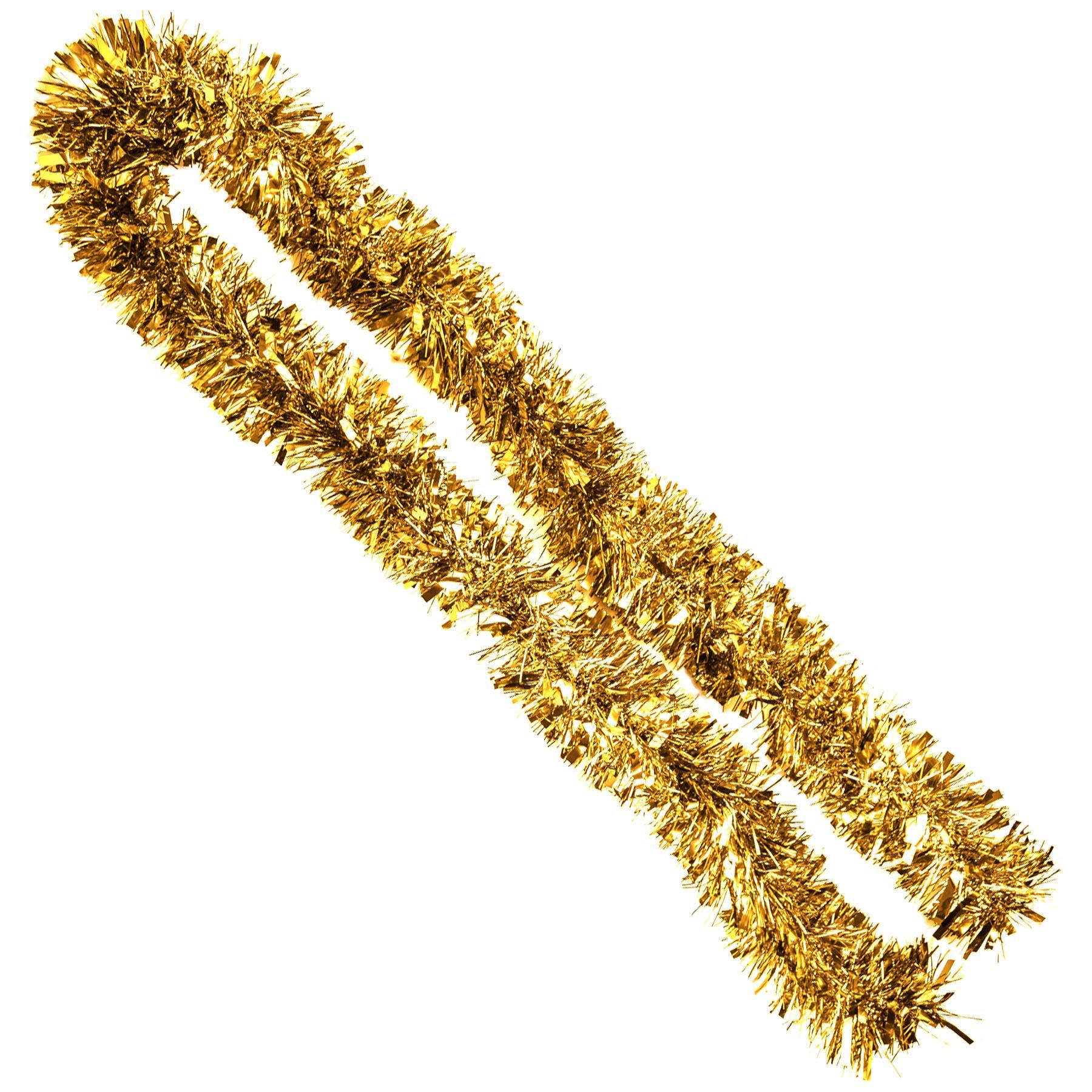 2m-a-trama-grossa-METALLIZZATO-decorazioni-6ply-spessore-Albero-di-Natale-Decorazione-Casa-Festa miniatura 5