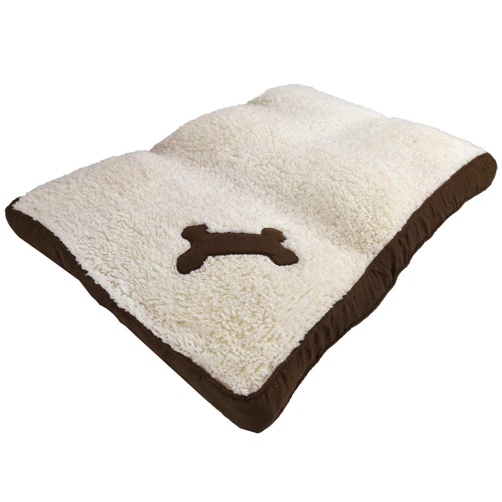 Memory Foam Pet Dog Cat Bed Cushion Warm Soft Fleece Mat