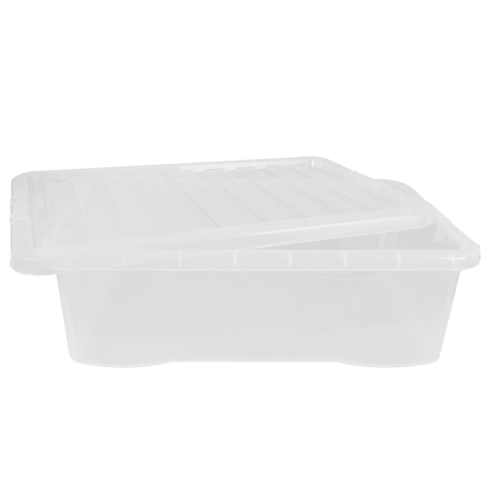 Wham-Crystal-Clear-Plastic-Storage-Box-Secure-Clip-on-Lid-Under-Bed-Space-Save thumbnail 25