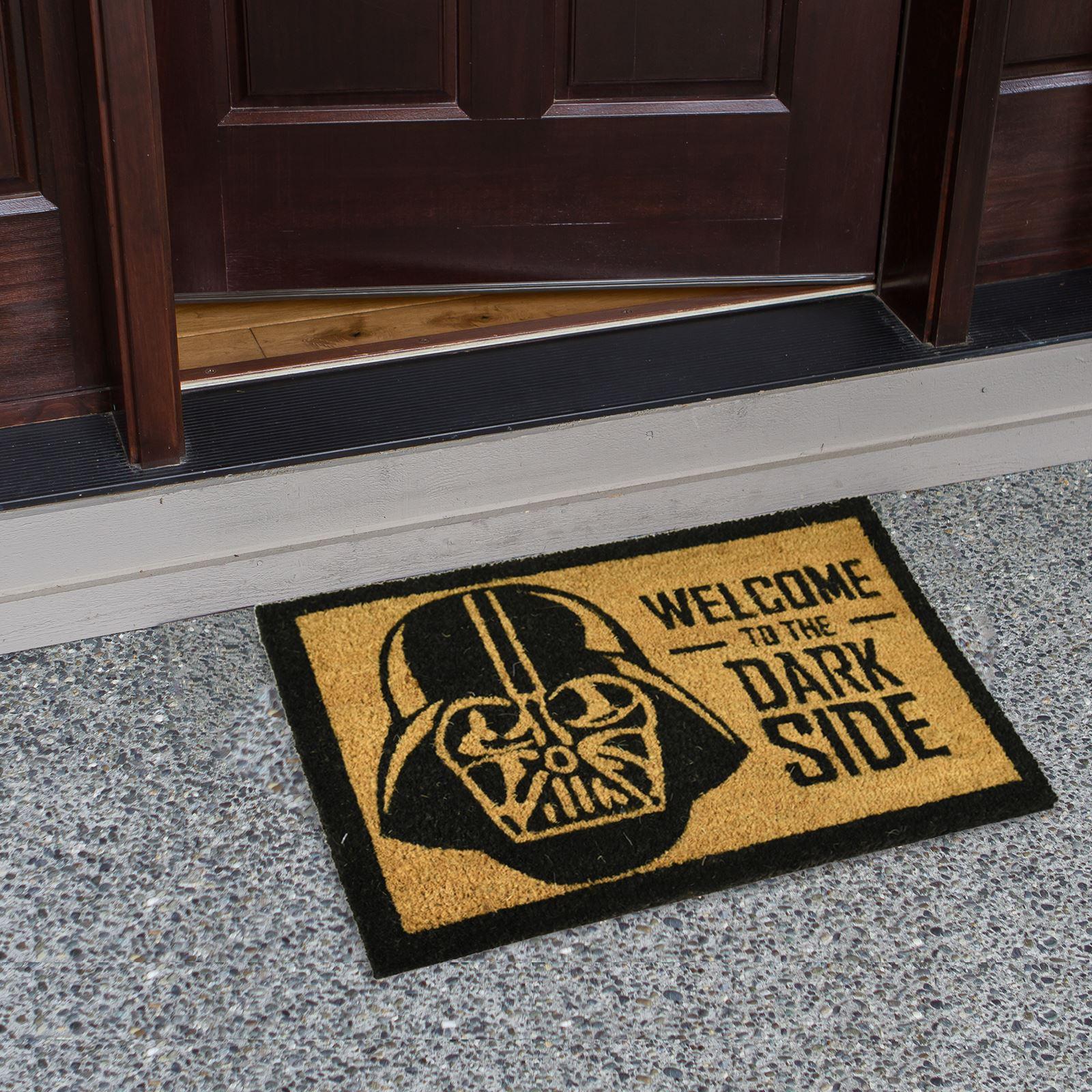 Plain-Non-Slip-Door-Mat-Tough-Natural-Coir-PVC-Back-Welcome-Doormat-40-x-60cm miniatura 35