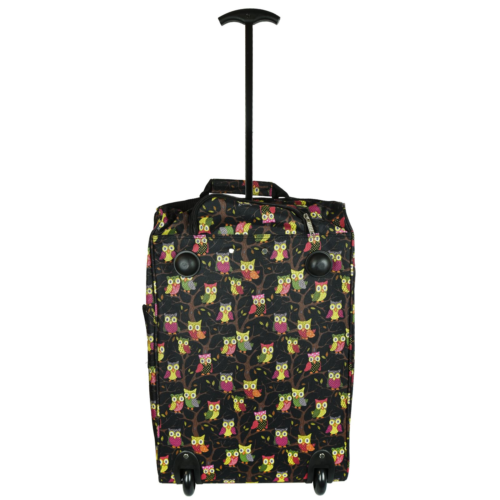 Cabin-Hand-Luggage-Trolley-Bag-Small-Travel-Flight-Suitcase-Holdall-Wheeled thumbnail 12