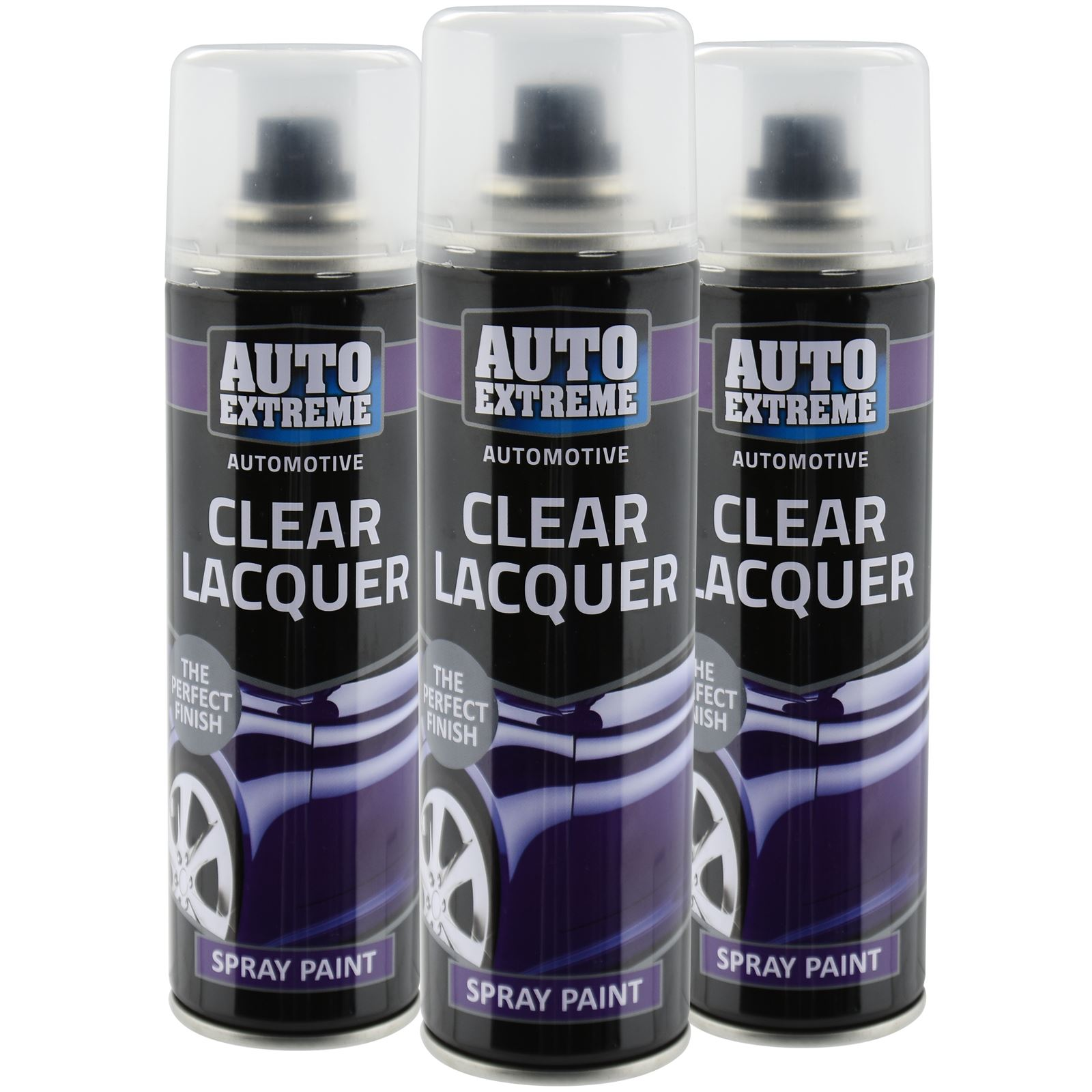 automotive clear lacquer spray paint 250ml aerosol fast metal interior exterior ebay. Black Bedroom Furniture Sets. Home Design Ideas