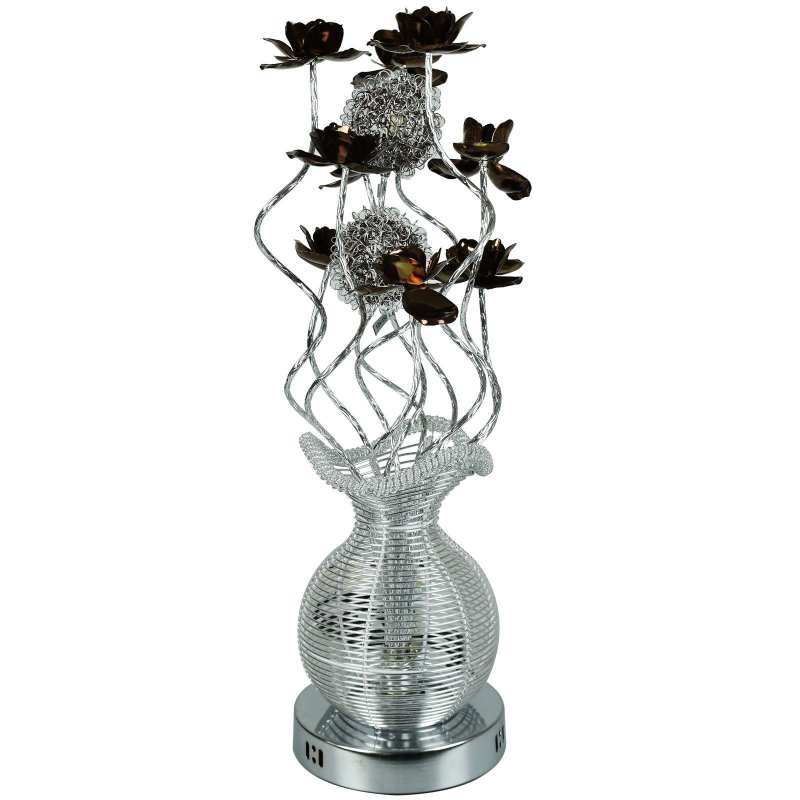 vase lighting. Aluminium-Flower-LED-Vase-Design-Table-Floor-Lamp- Vase Lighting