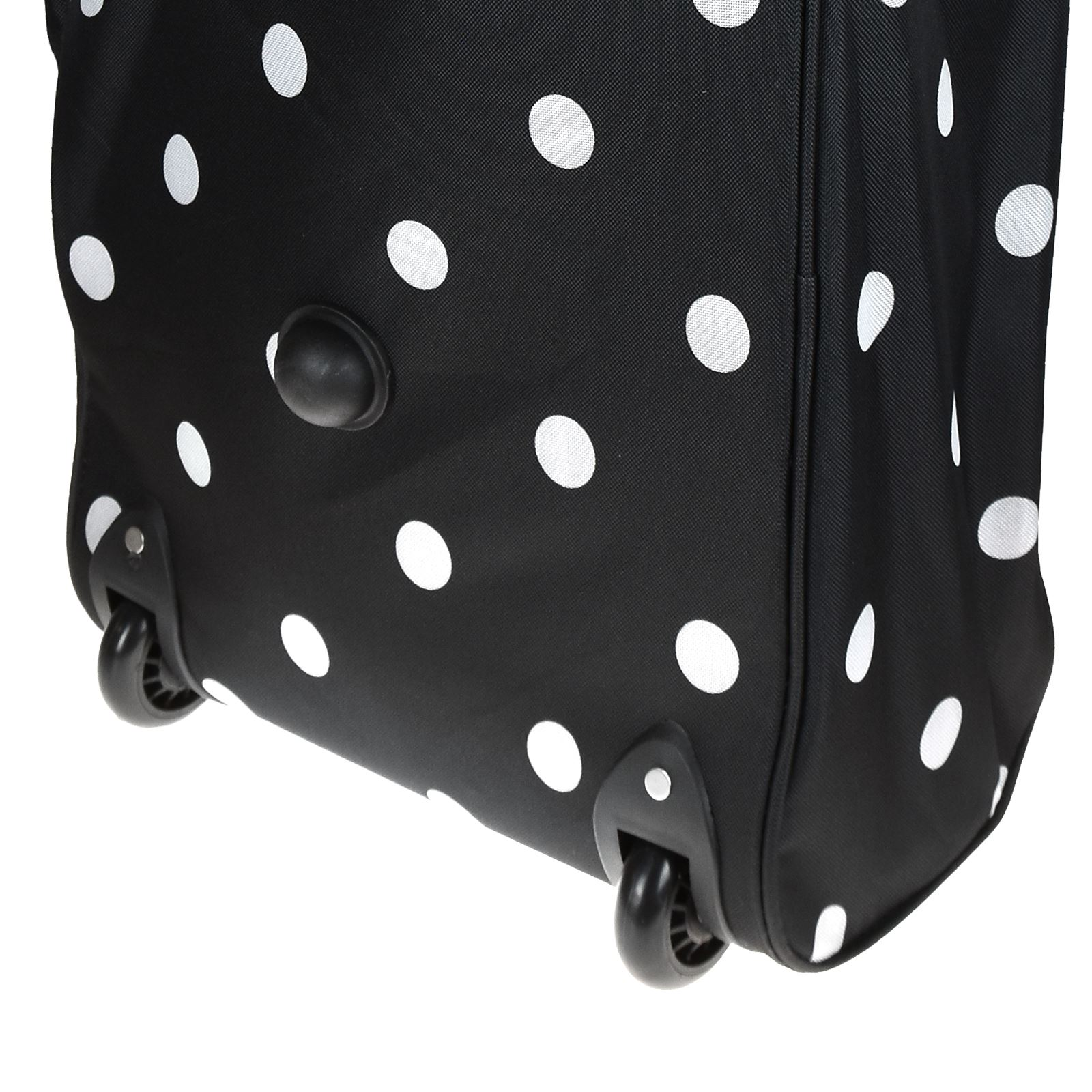 Cabin-Hand-Luggage-Trolley-Bag-Small-Travel-Flight-Suitcase-Holdall-Wheeled thumbnail 3