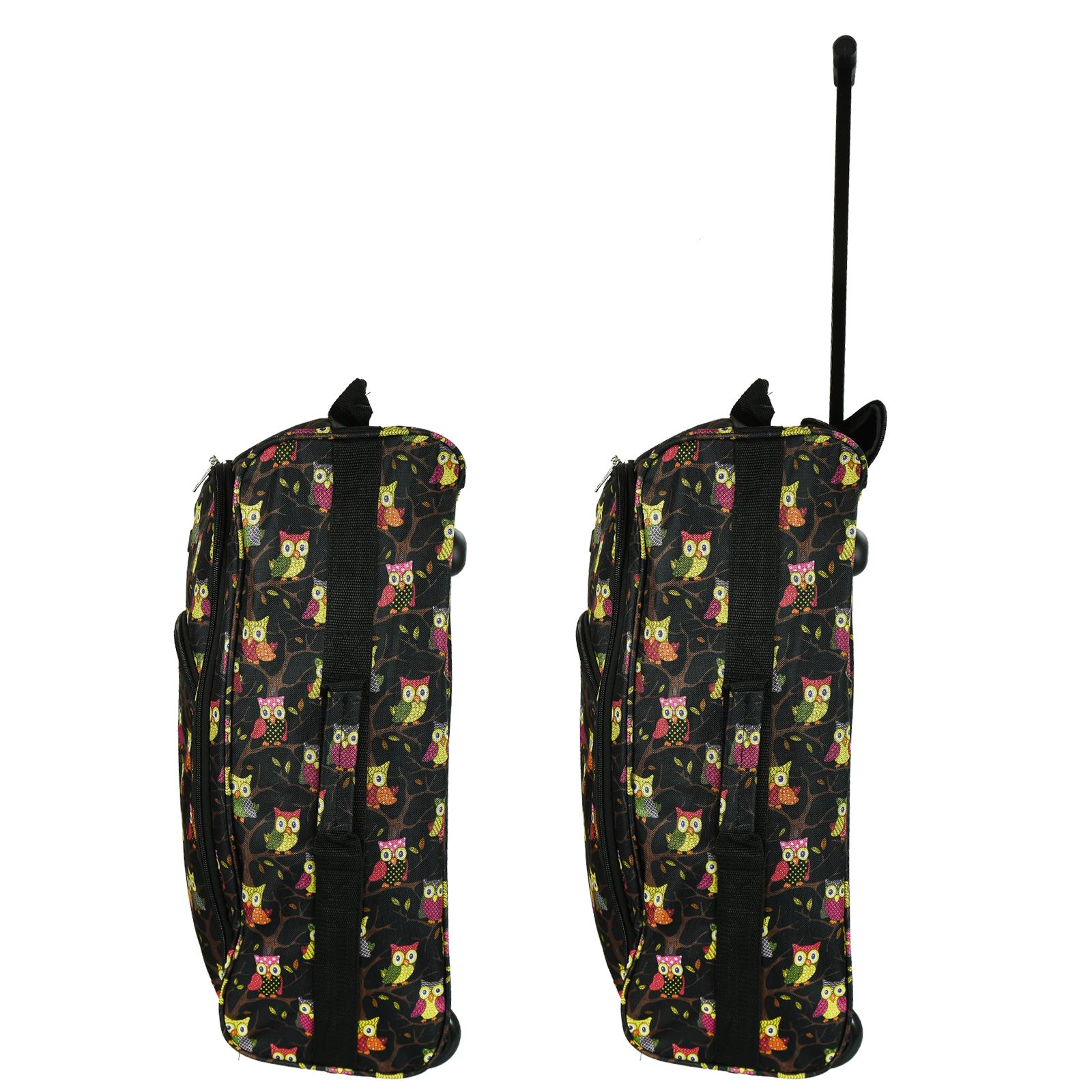 Cabin-Hand-Luggage-Trolley-Bag-Small-Travel-Flight-Suitcase-Holdall-Wheeled thumbnail 10