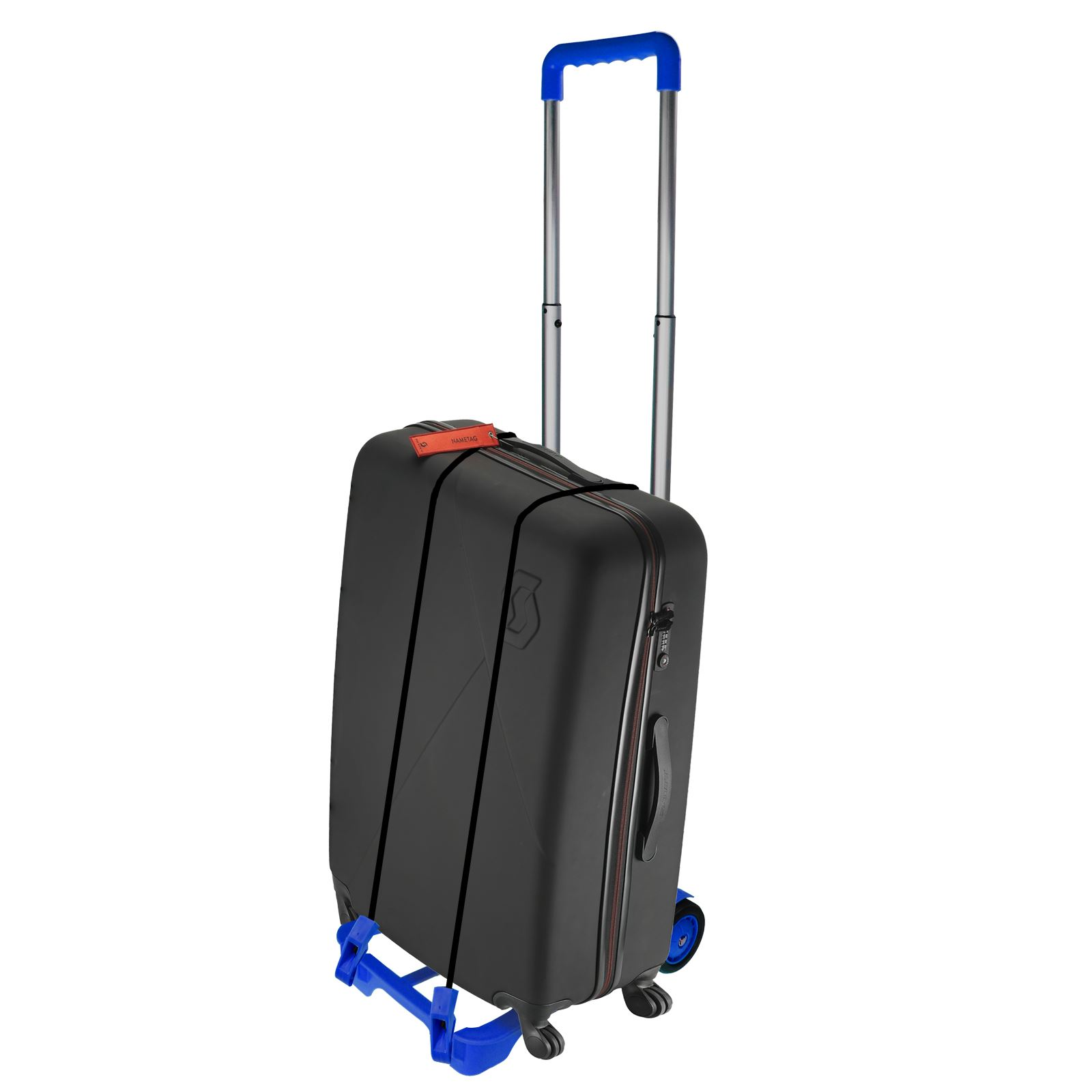 0b0980059 New Collapsible Luggage Trolley Folding Cabin Suitcase Bag Shopping ...