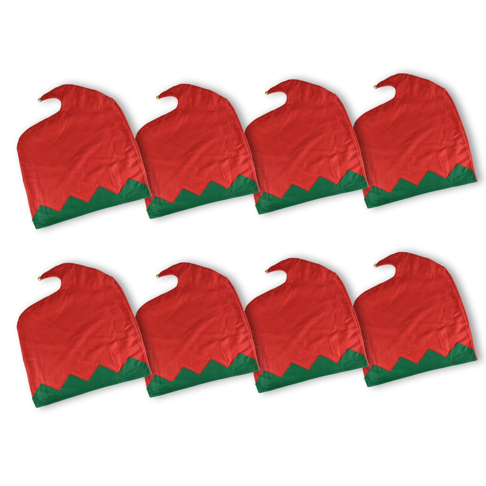 Elf-Sombrero-Navidad-Comedor-Silla-Trasera-Cubierta-Jingle-Bells-Decoracion-Fiesta-De-Navidad miniatura 5