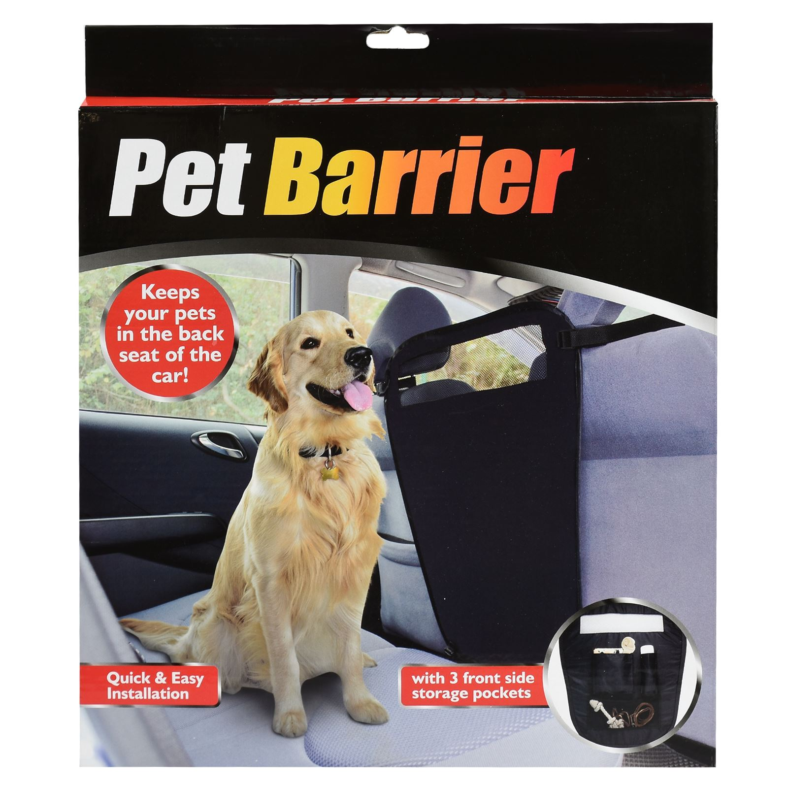 pet dog safety car front back seat interior protection blocker barrier guard ebay. Black Bedroom Furniture Sets. Home Design Ideas