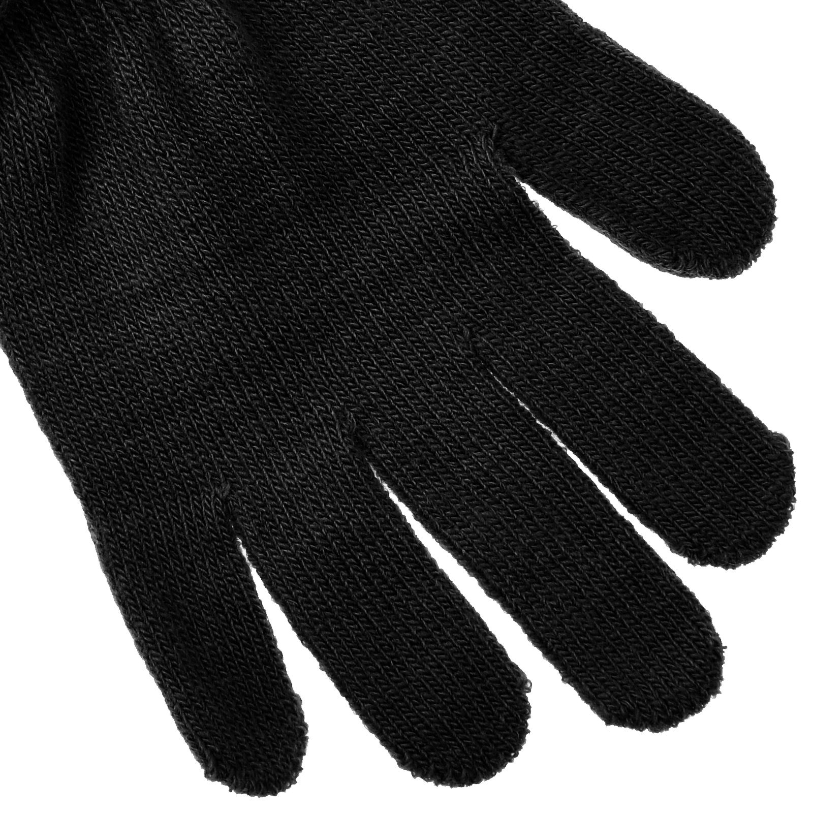 MAGIC WINTER  WARM  GRIPPER GLOVES BLACK ONE SIZE FIT ALL