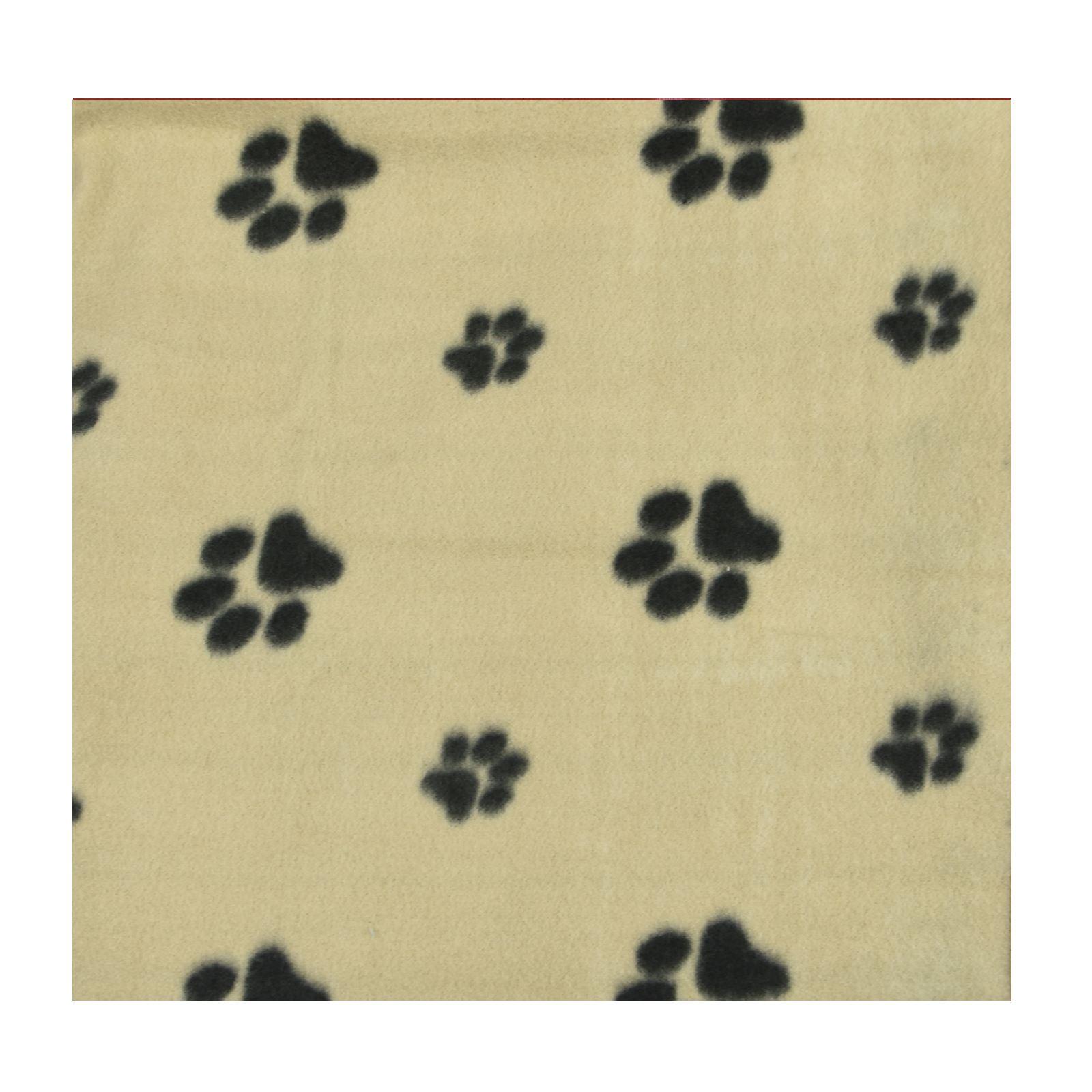 Warm-Pet-Mat-Paw-Print-Cat-Dog-Puppy-Fleece-Soft-Blanket-Bed-Cushion-One-Size thumbnail 3