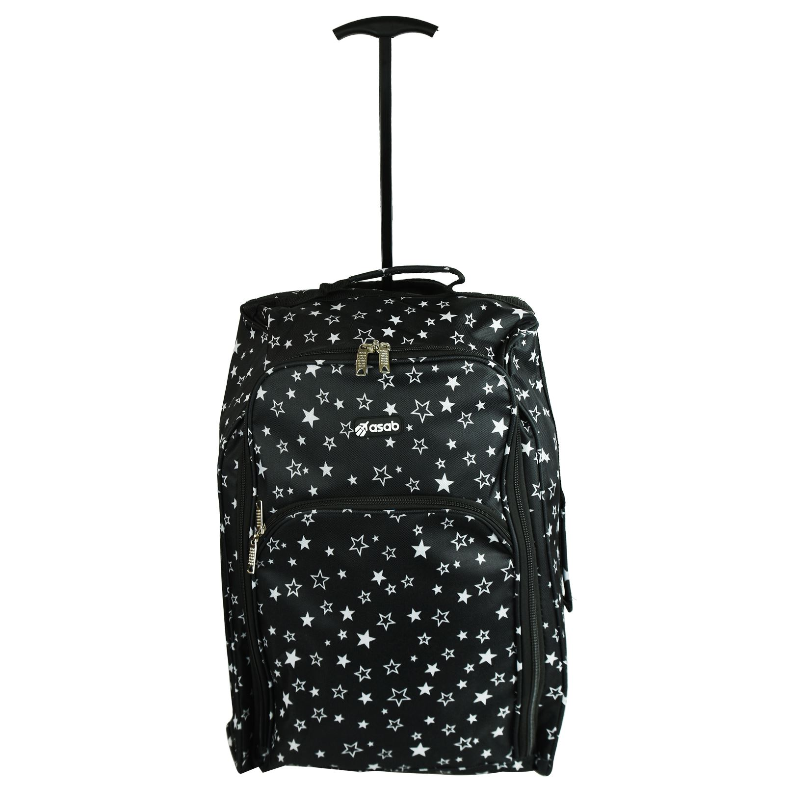 Cabin-Hand-Luggage-Trolley-Bag-Small-Travel-Flight-Suitcase-Holdall-Wheeled thumbnail 17