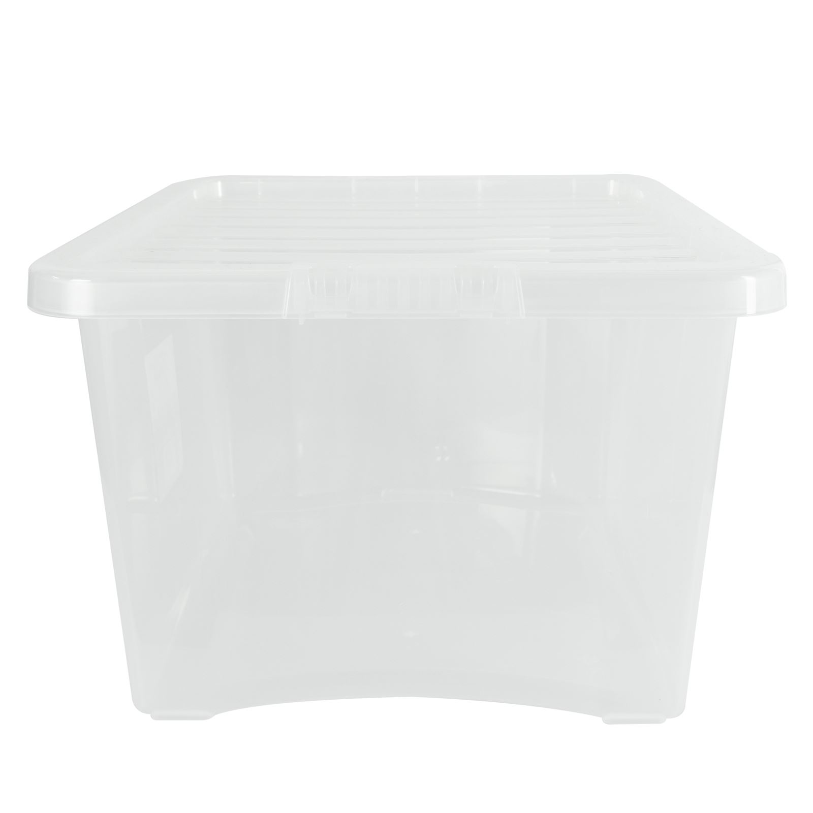 Wham-Crystal-Clear-Plastic-Storage-Box-Secure-Clip-on-Lid-Under-Bed-Space-Save thumbnail 14