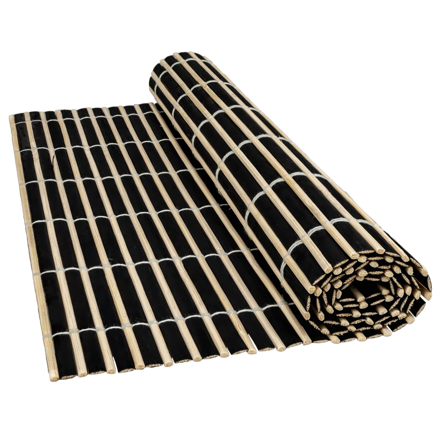 Bamboo Wood Table Placemats Serving Dining Sushi Oriental