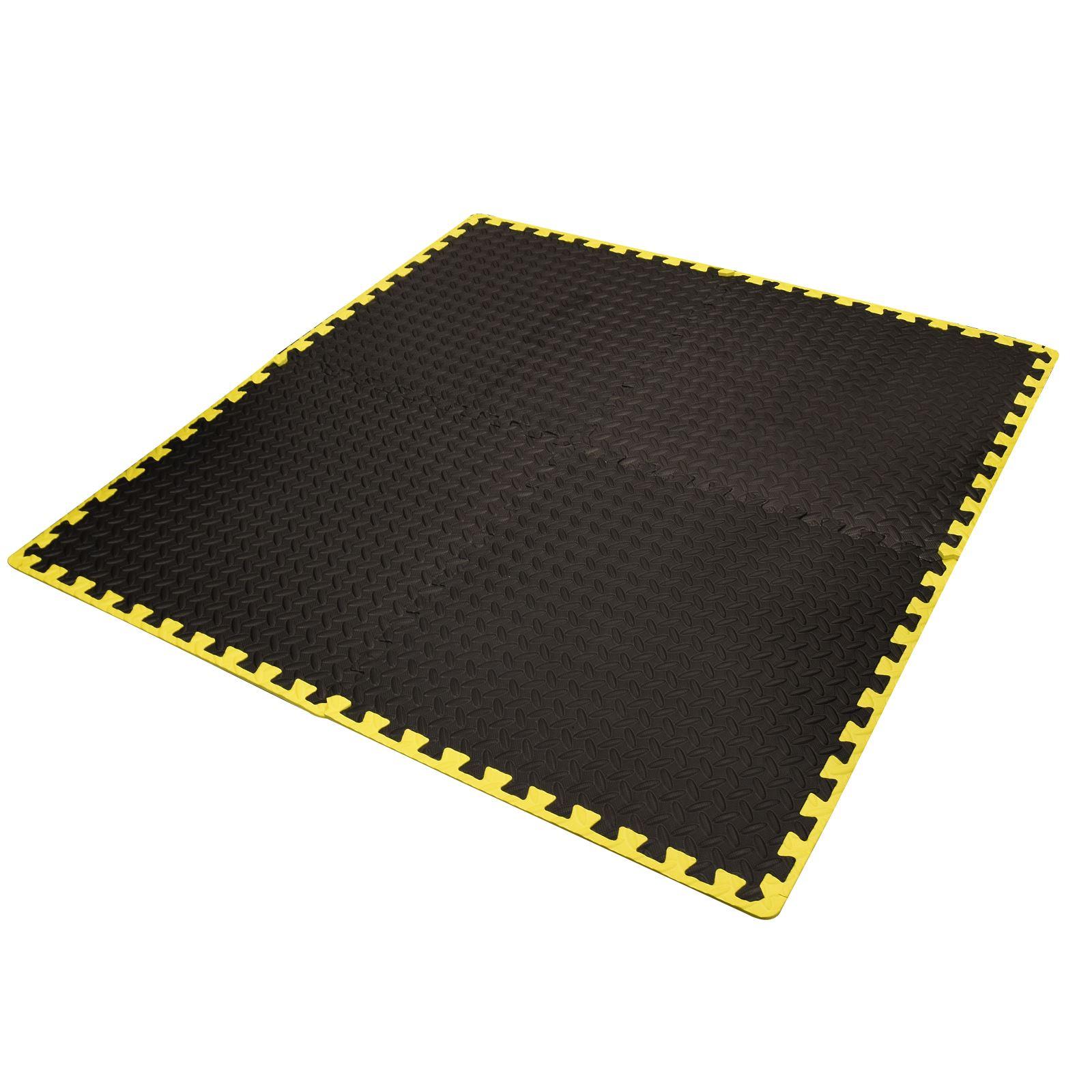 Interlocking eva floor mat soft rubber foam tiles exercise for Foam flooring