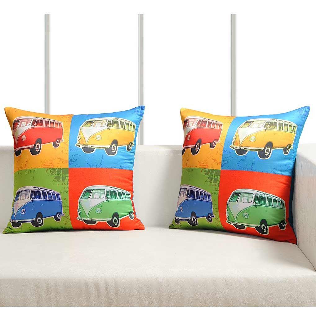 Luxury-Cushion-Covers-Retro-Pop-Art-Design-Digital-Printed-Square-Pillow-Case thumbnail 10
