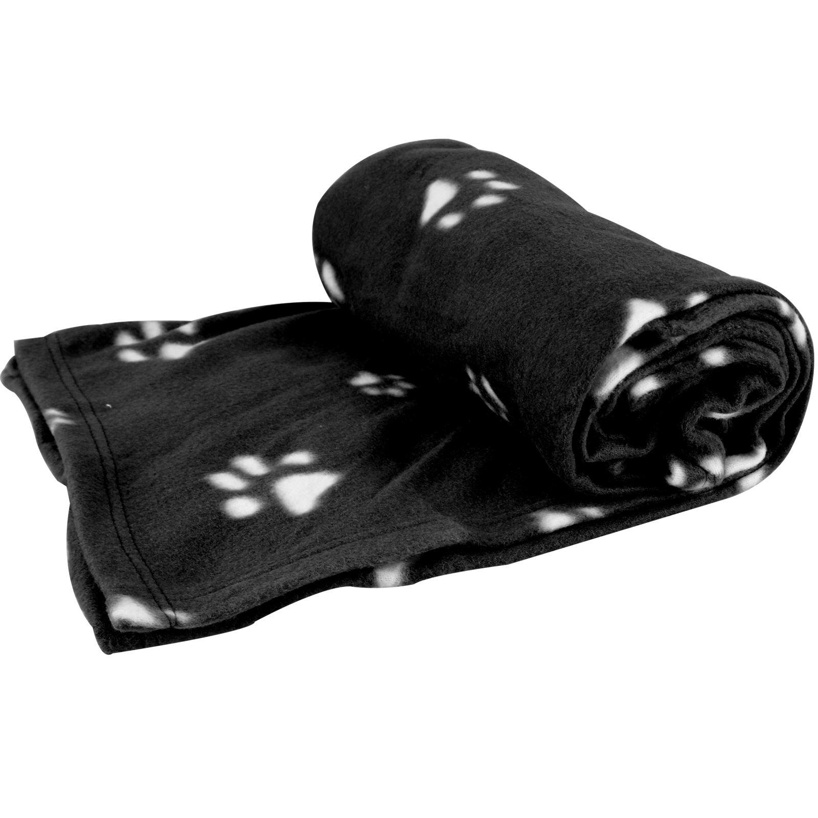 Warm-Pet-Mat-Paw-Print-Cat-Dog-Puppy-Fleece-Soft-Blanket-Bed-Cushion-One-Size thumbnail 7