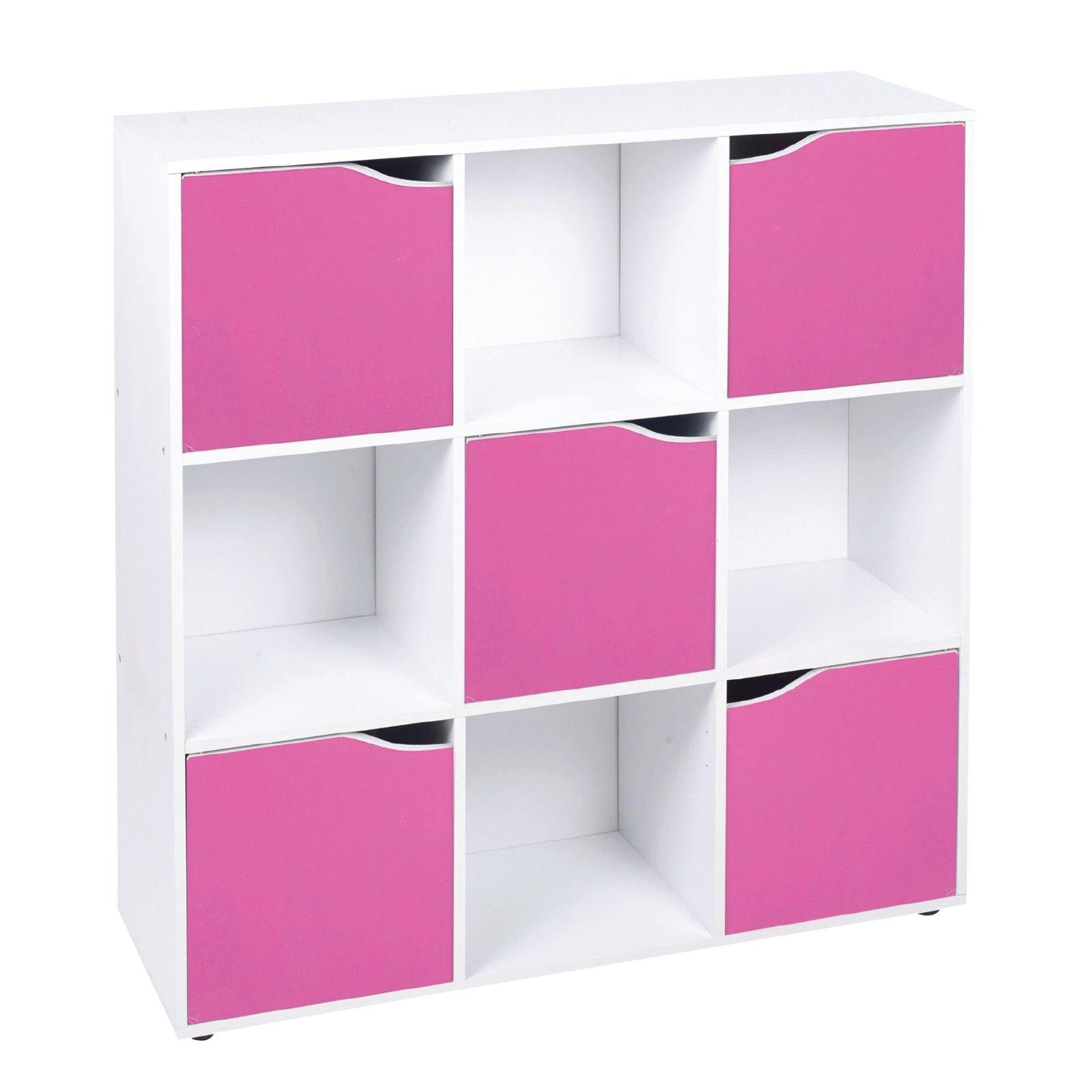 4 6 9 cube wooden storage unit bookcase shelving display shelves wood shelf door ebay. Black Bedroom Furniture Sets. Home Design Ideas