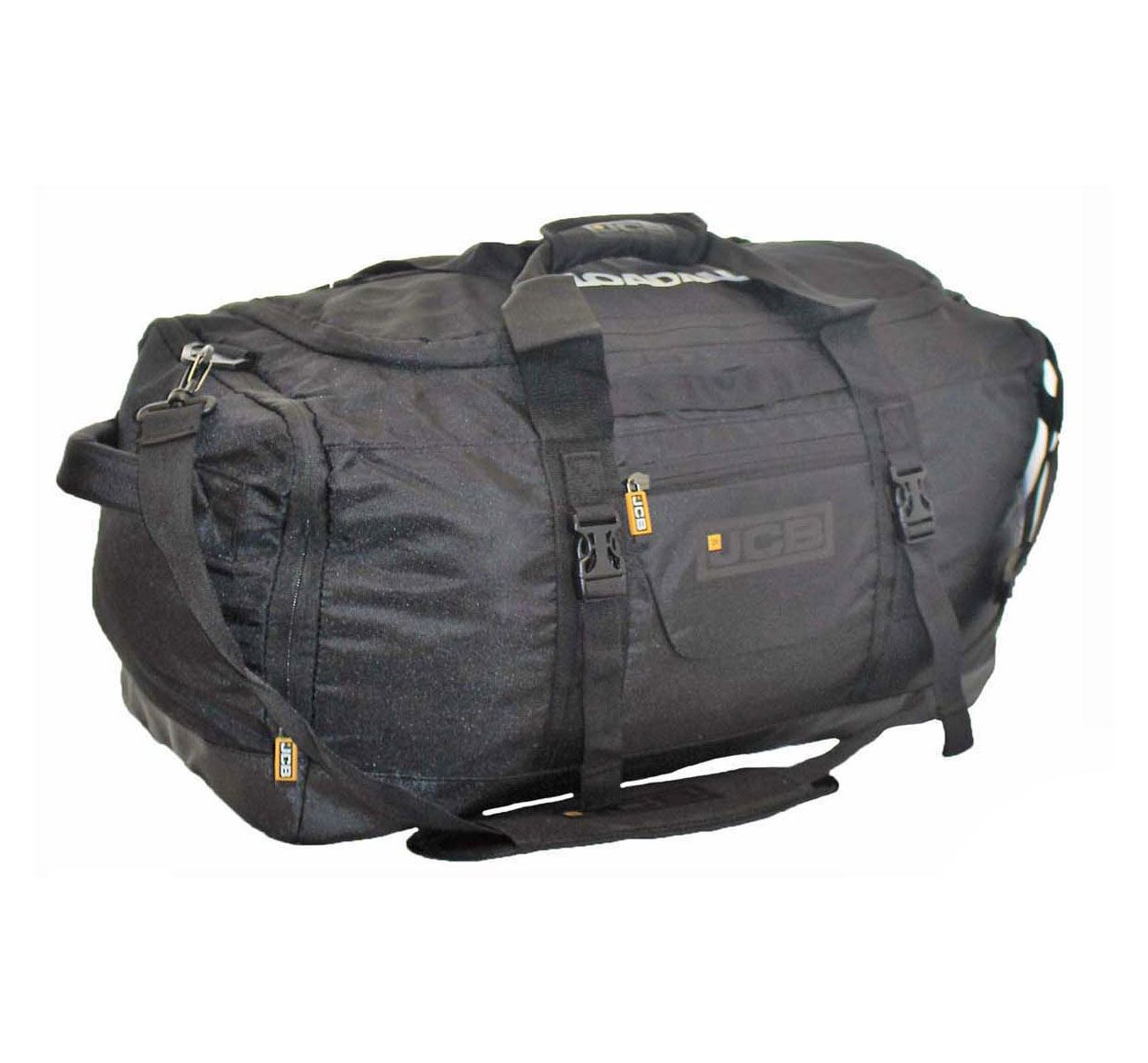Mens-Ladies-Unisex-JCB-Holdall-Sports-Duffle-Bag-49-5L-Travel-Flight-Cabin