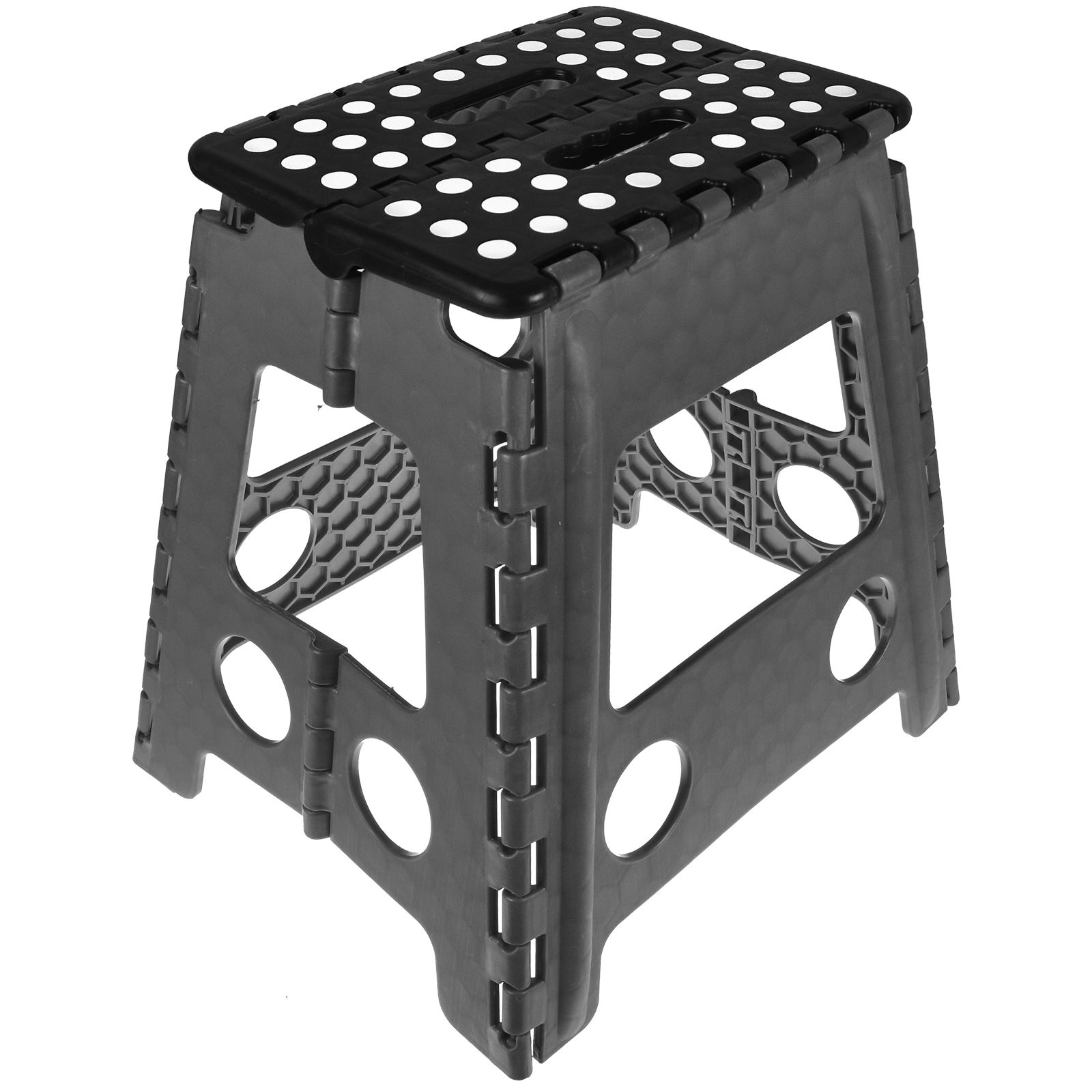 Large-Fold-Step-Stool-Plastic-Home-Kitchen-Multi-  sc 1 st  eBay & Large Fold Step Stool Plastic Home Kitchen Multi Purpose Foldable ... islam-shia.org