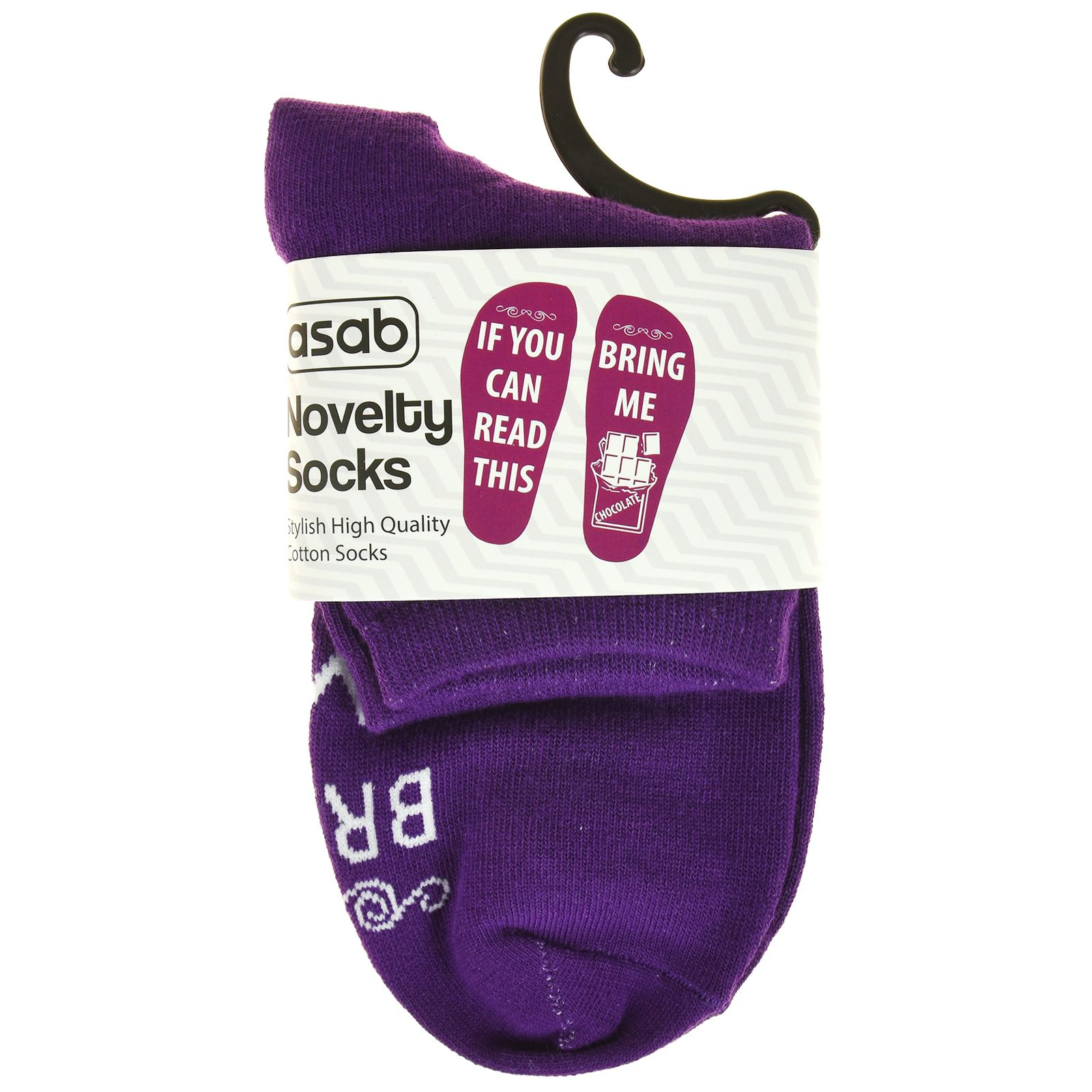 Novelty-Slogan-Socks-If-You-Can-Read-This-Fun-Design-Personalised-Gift-New miniatura 15