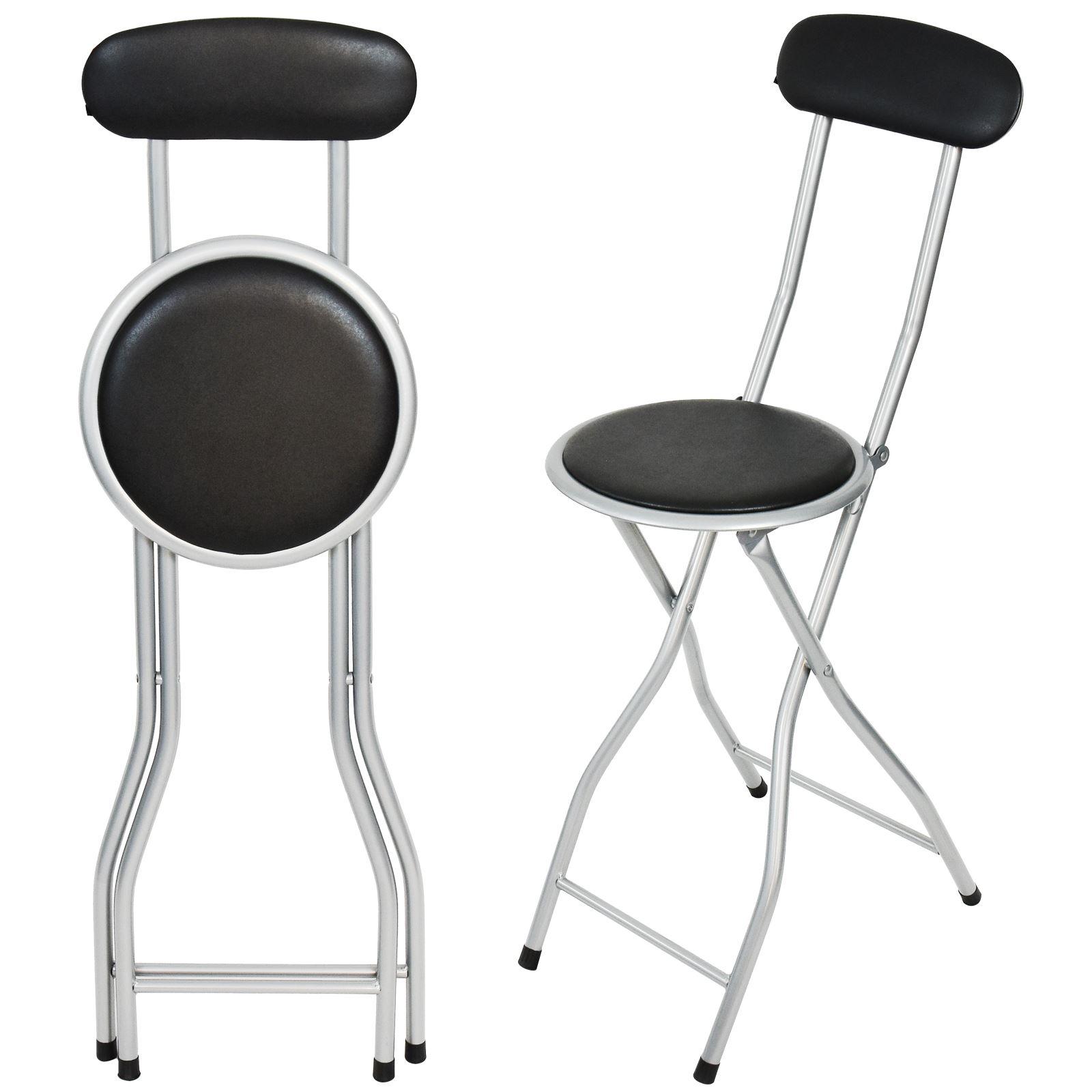 Desayuno port til plegable camping silla asiento taburete de bar fiesta de jard n al aire libre - Taburete bar plegable ...