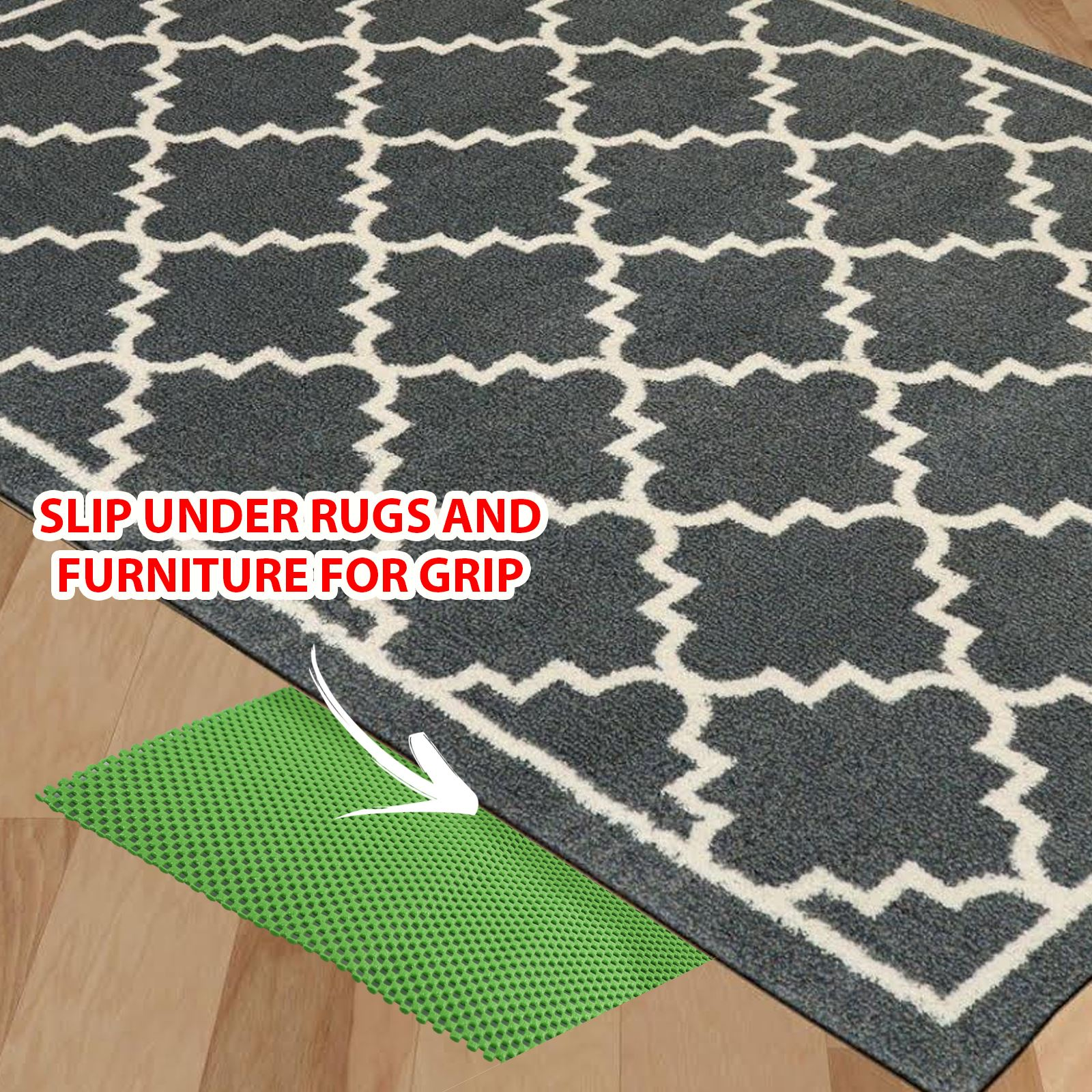 Multi-Purpose-Anti-Non-Slip-Rubber-Mat-Drawer-Liner-Flooring-Gripper-Carpet-Rug thumbnail 10