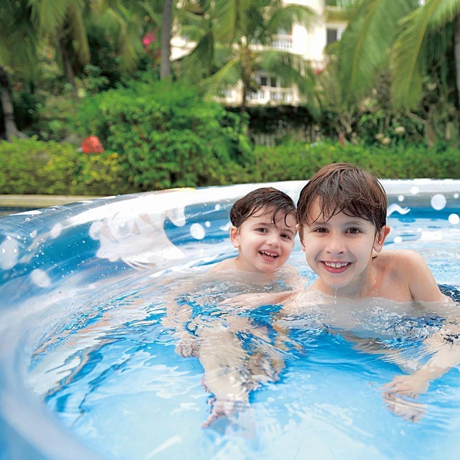 Kids-Play-3-Anillo-Inflable-Centro-De-Natacion-Piscina-Infantil-Mar-Vida-al-Aire-Libre-Diversion miniatura 7