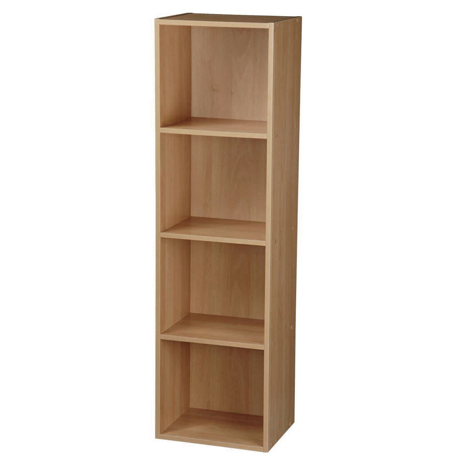 Wooden-Storage-Unit-Cube-2-3-4-Tier-Strong-Bookcase-Shelving-Home-Office-Display thumbnail 25