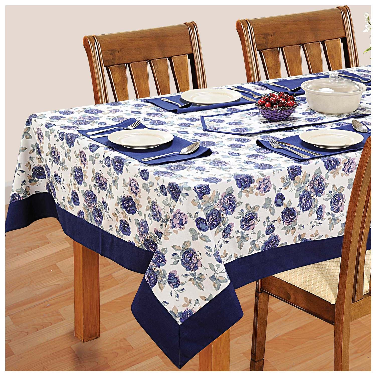 6 seater dinner party table linen set kitchen dining for Table 6 brunch
