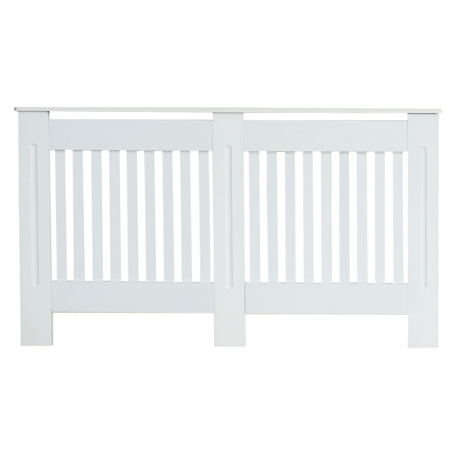 Traditional-Radiator-Cover-Cabinet-Vertical-Slatted-MDF-Wood-Small-Large-Unit thumbnail 6