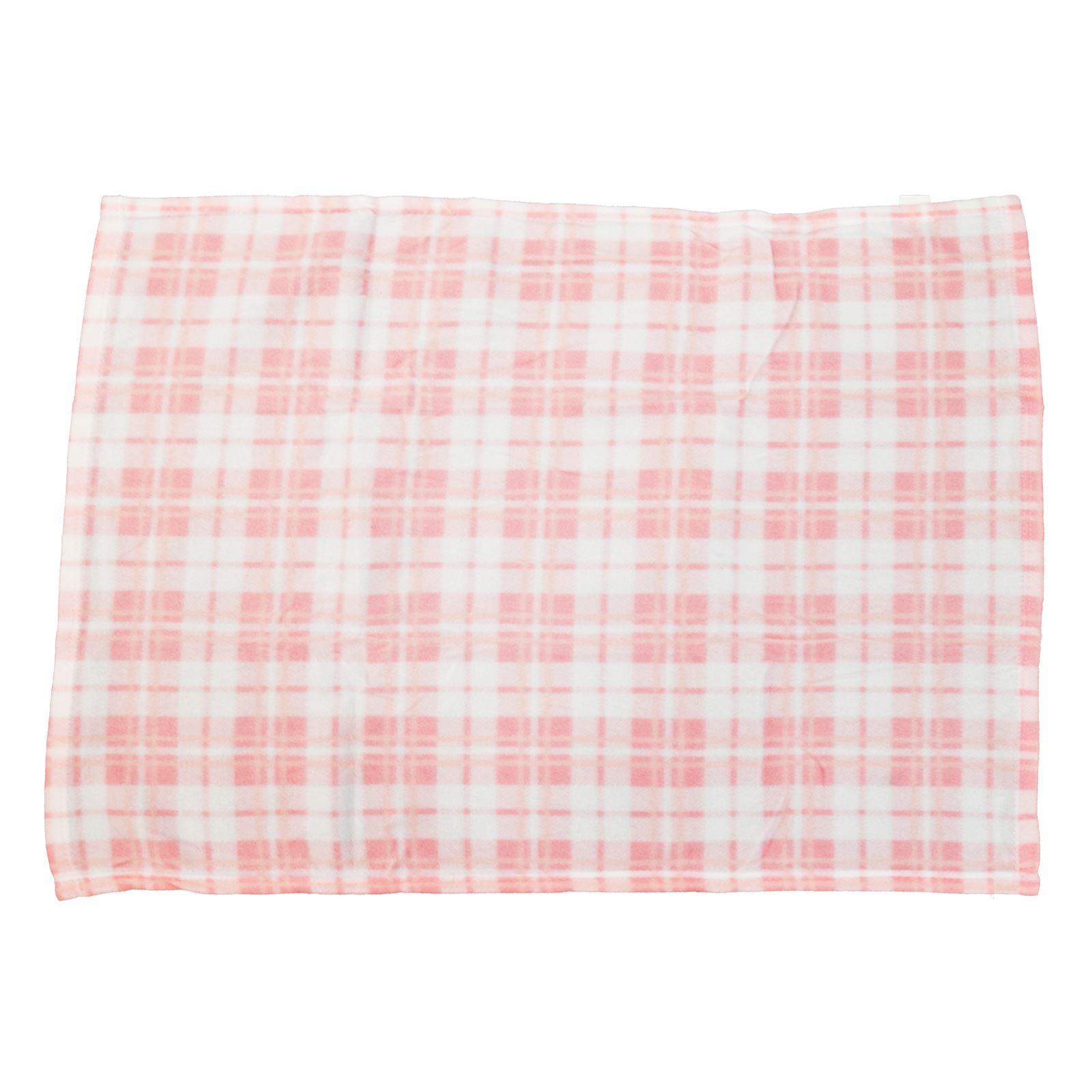 Super soft fleece baby blanket check design new born pram for New check designs