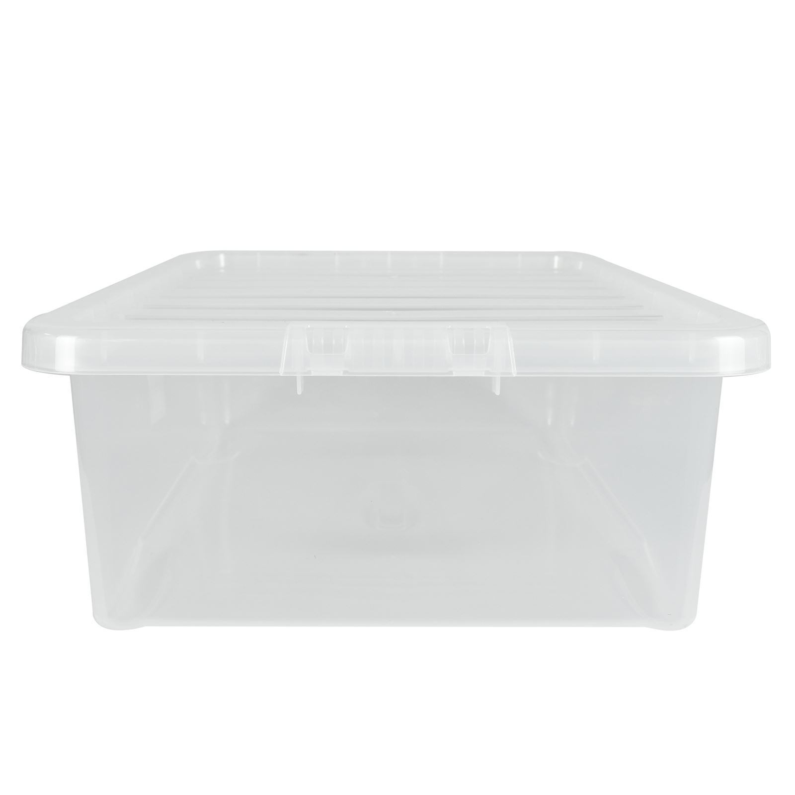 Wham-Crystal-Clear-Plastic-Storage-Box-Secure-Clip-on-Lid-Under-Bed-Space-Save thumbnail 24