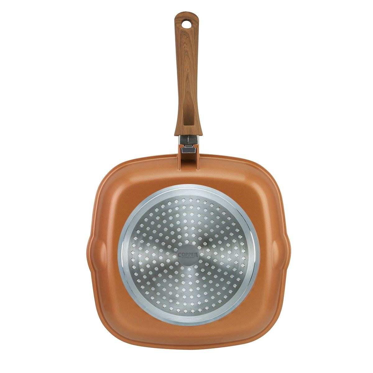 Jml Copper Stone Pans Anti Scratch Non Stick Hard Wearing