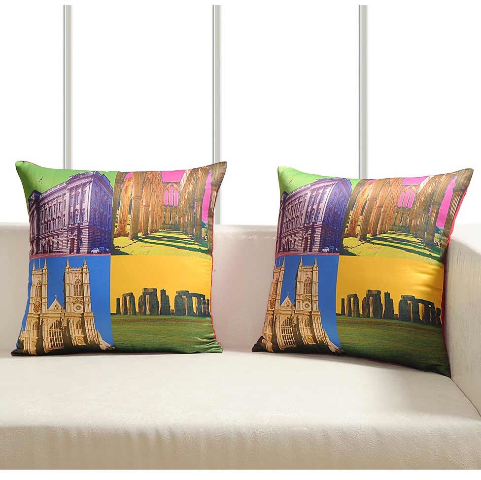 Luxury-Cushion-Covers-Retro-Pop-Art-Design-Digital-Printed-Square-Pillow-Case thumbnail 14