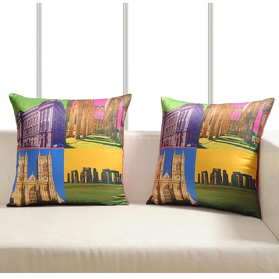 Luxury-Cushion-Covers-Retro-Pop-Art-Design-Digital-Printed-Square-Pillow-Case thumbnail 14