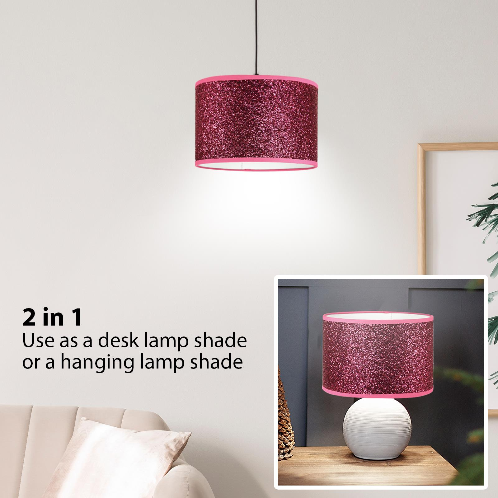 Modern-Chandelier-Style-Ceiling-Light-Lamp-Shade-Drop-Pendant-Acrylic-Crystal thumbnail 23