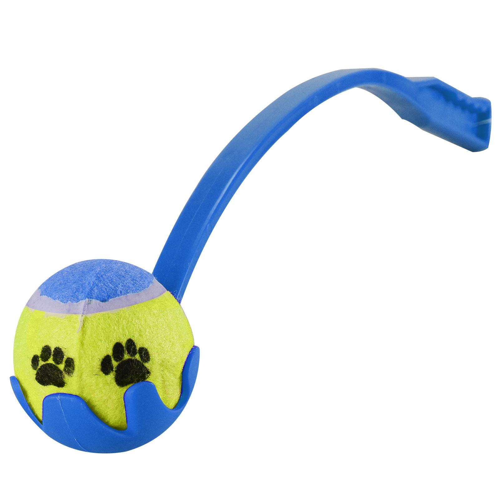 Pet Dog Tennis Ball Launcher Thrower Chucker Puppy Training