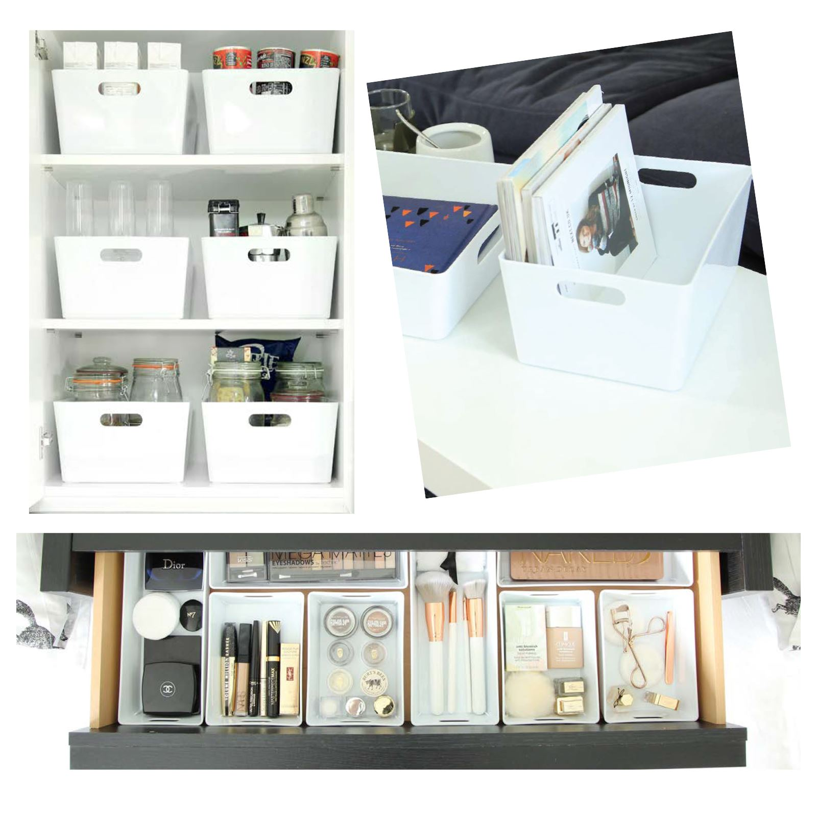 Plastic-Handy-Fruit-Vegetable-Home-Kitchen-Storage-Basket-Crate-Tidy-Organiser thumbnail 11