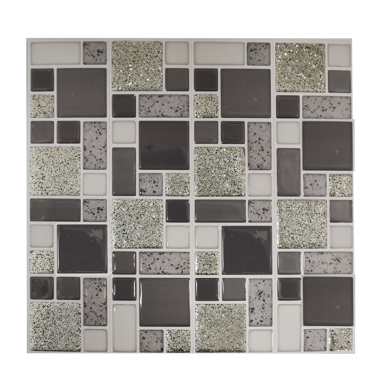 Self-Adhesive Mosaic Tile Stickers Bathroom Kitchen