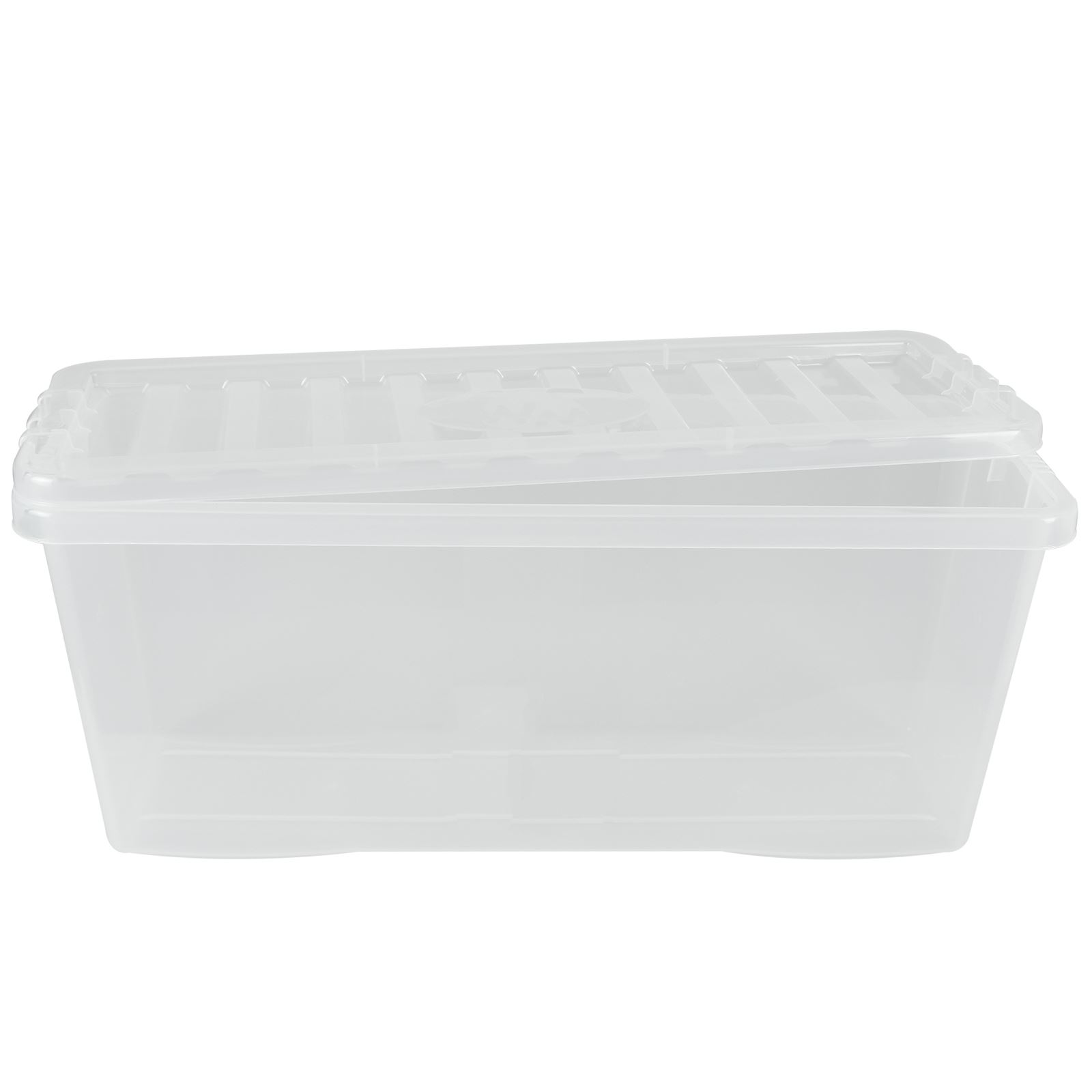 Wham-Crystal-Clear-Plastic-Storage-Box-Secure-Clip-on-Lid-Under-Bed-Space-Save thumbnail 12
