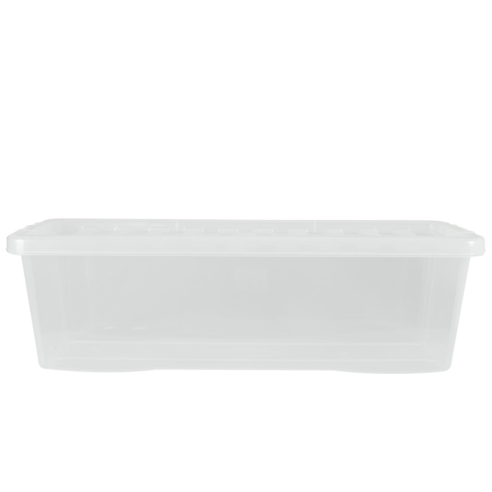 Wham-Crystal-Clear-Plastic-Storage-Box-Secure-Clip-on-Lid-Under-Bed-Space-Save thumbnail 3