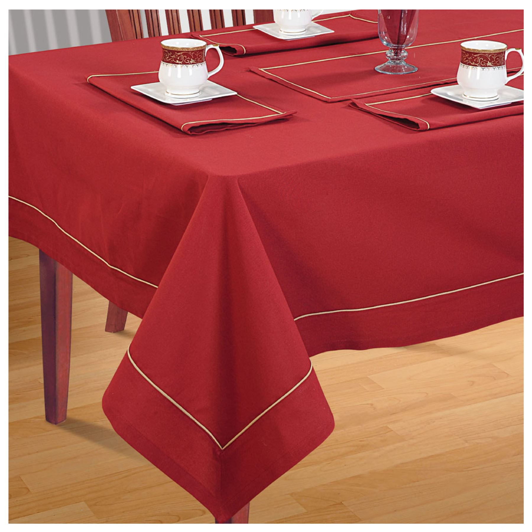Dining Room Table Linens: 4 Seater Dinner Party Table Linen Kitchen Dining