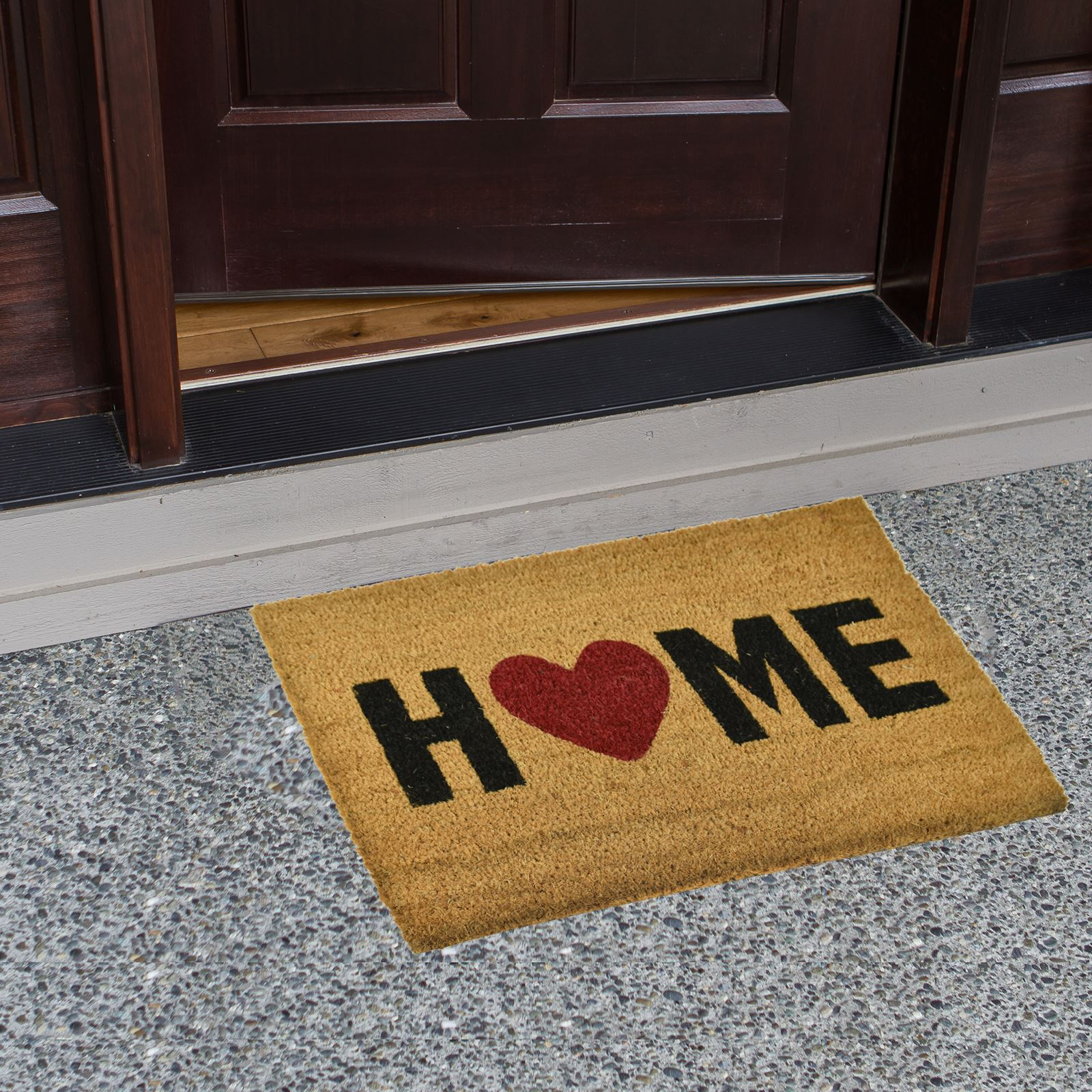 large welcome door entrance mat indoor outdoor non slip. Black Bedroom Furniture Sets. Home Design Ideas