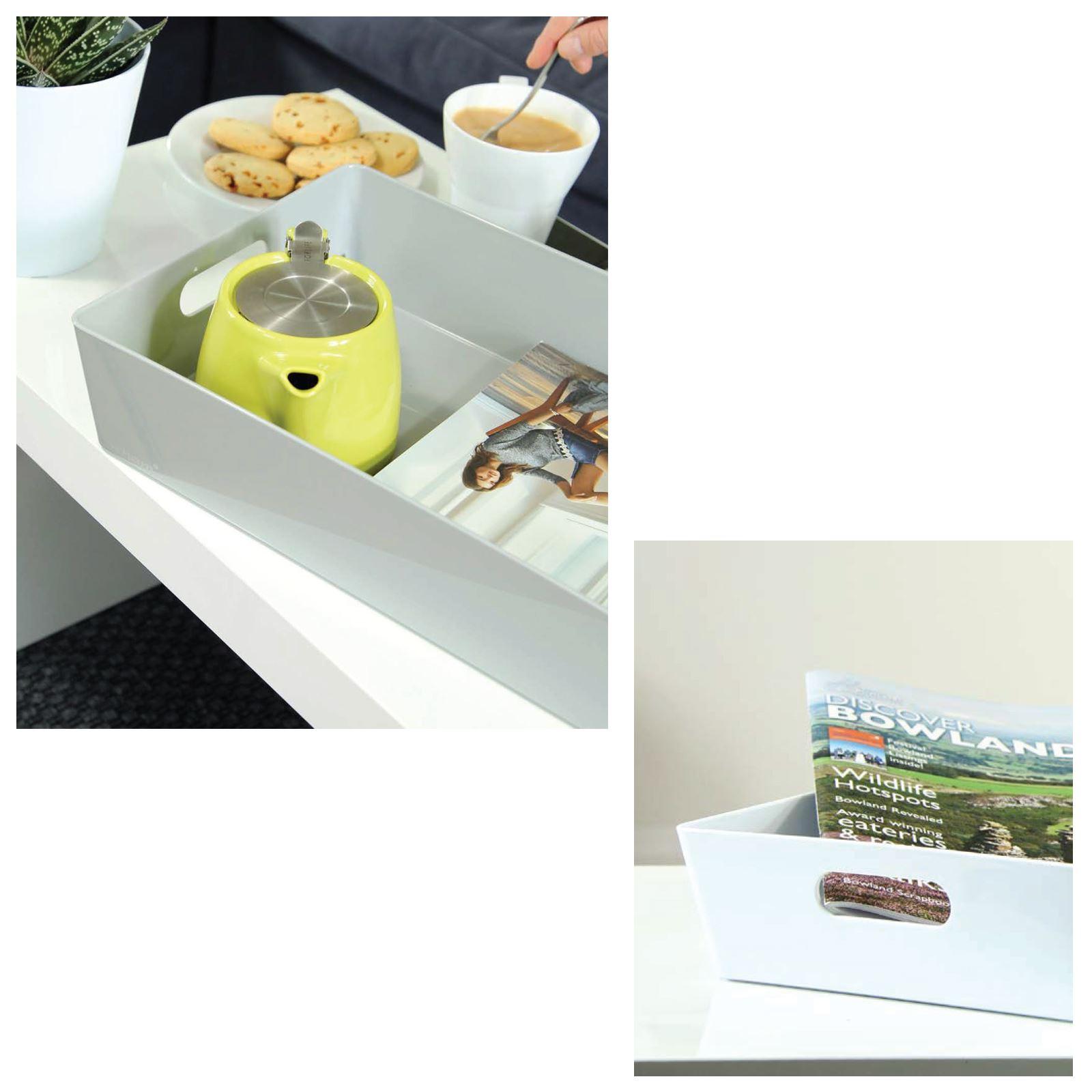 Plastic-Handy-Fruit-Vegetable-Home-Kitchen-Storage-Basket-Crate-Tidy-Organiser thumbnail 13