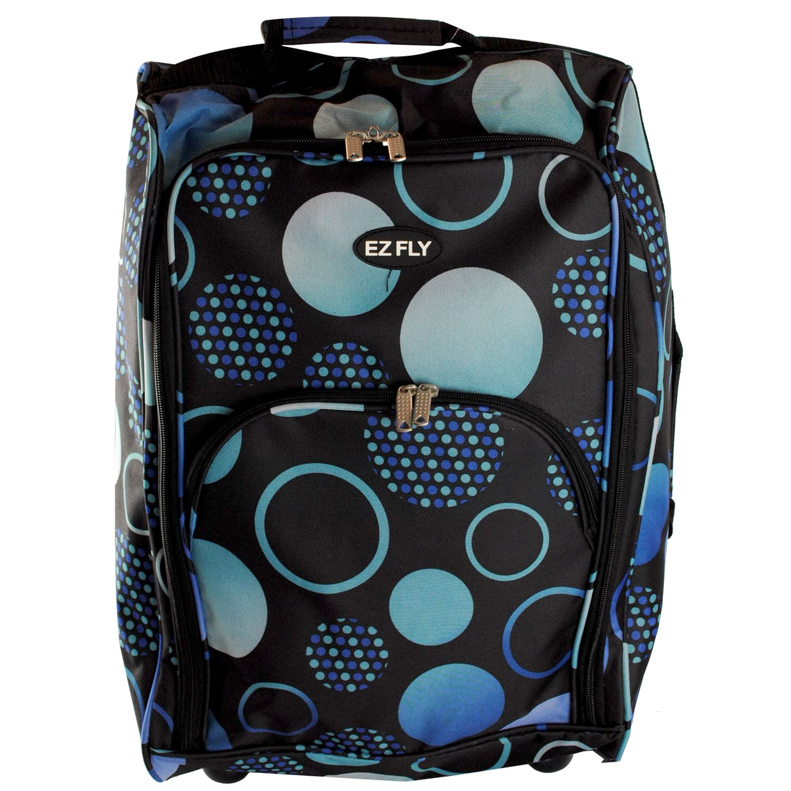 Cabin-Hand-Luggage-Trolley-Bag-Small-Travel-Flight-Suitcase-Holdall-Wheeled thumbnail 30