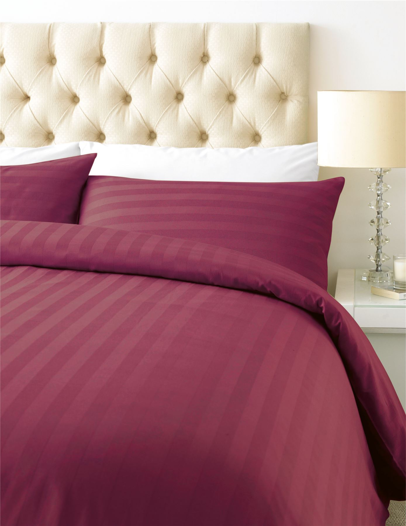 Luxury 800 Thread Count Duvet Cover With Pillowcase Cotton